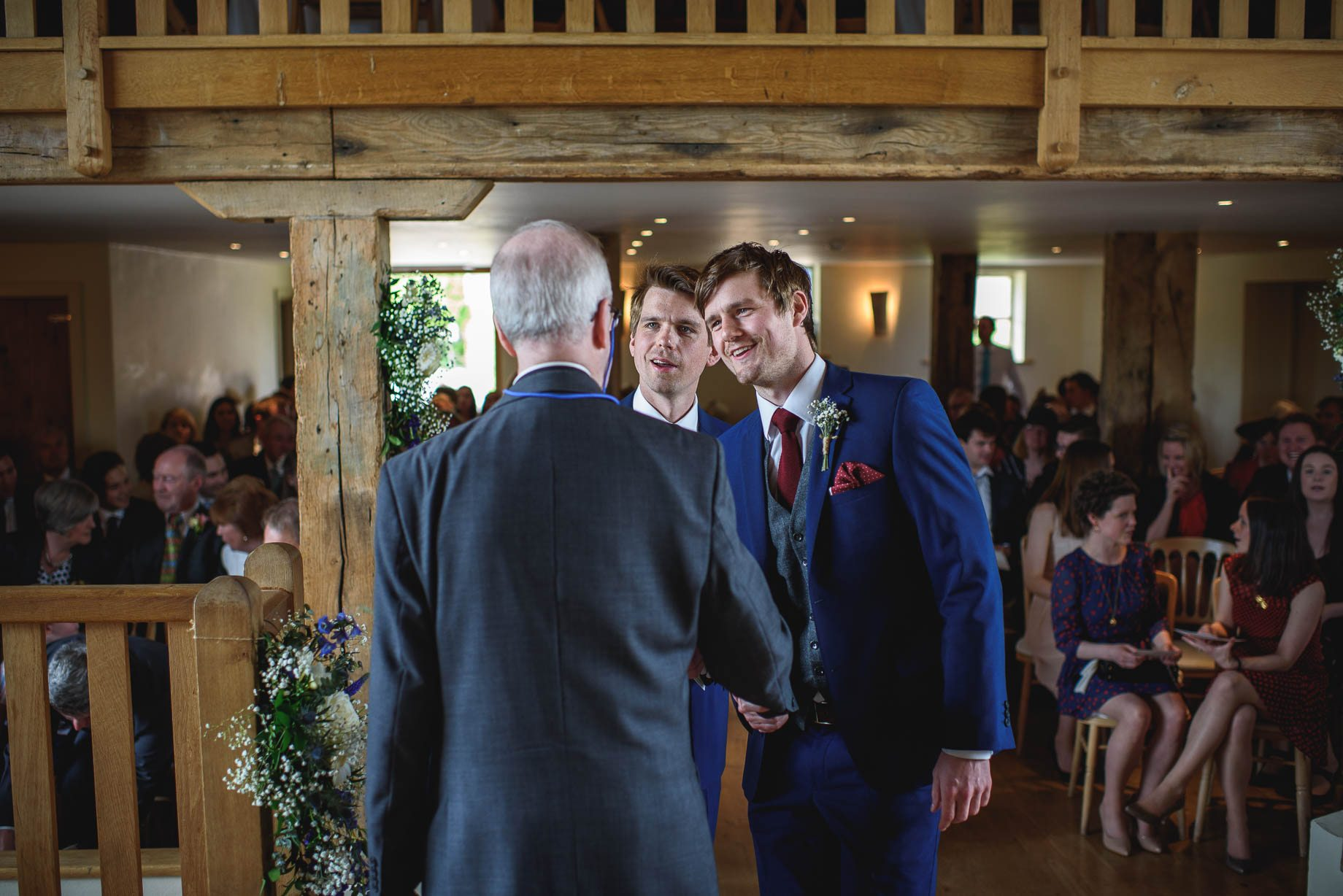 Bury Court Barn wedding photography by Guy Collier - Heather and Pat (27 of 170)