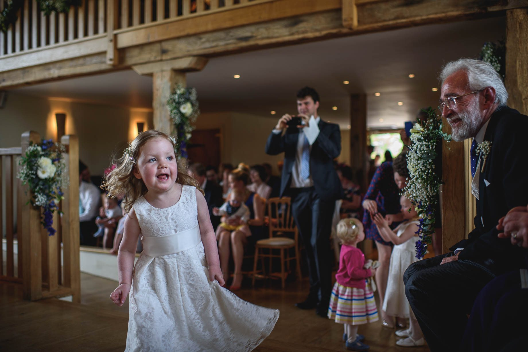 Bury Court Barn wedding photography by Guy Collier - Heather and Pat (52 of 170)