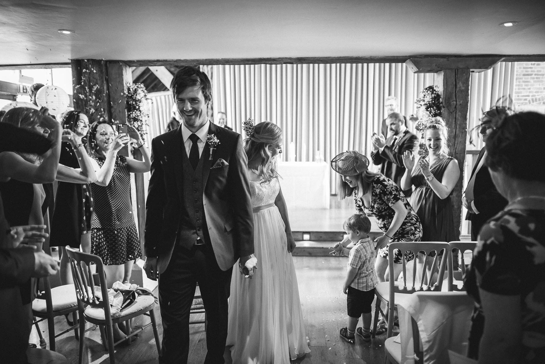Bury Court Barn wedding photography by Guy Collier - Heather and Pat (59 of 170)