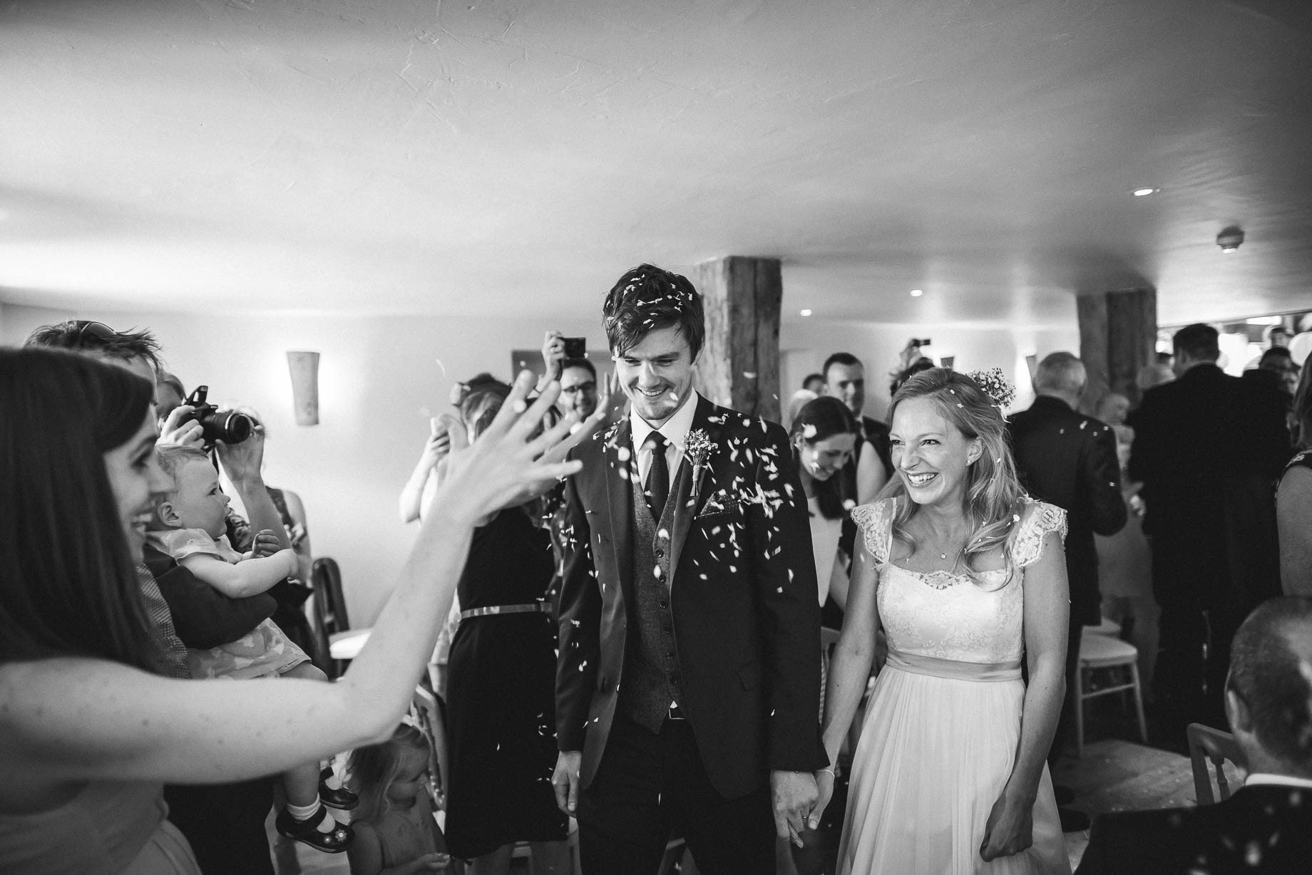 Bury Court Barn wedding photography by Guy Collier - Heather and Pat (60 of 170)