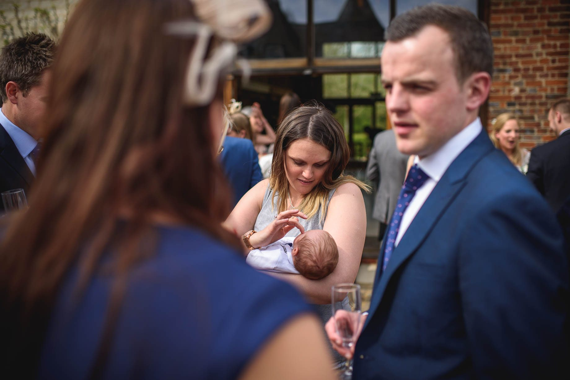Bury Court Barn wedding photography by Guy Collier - Heather and Pat (75 of 170)