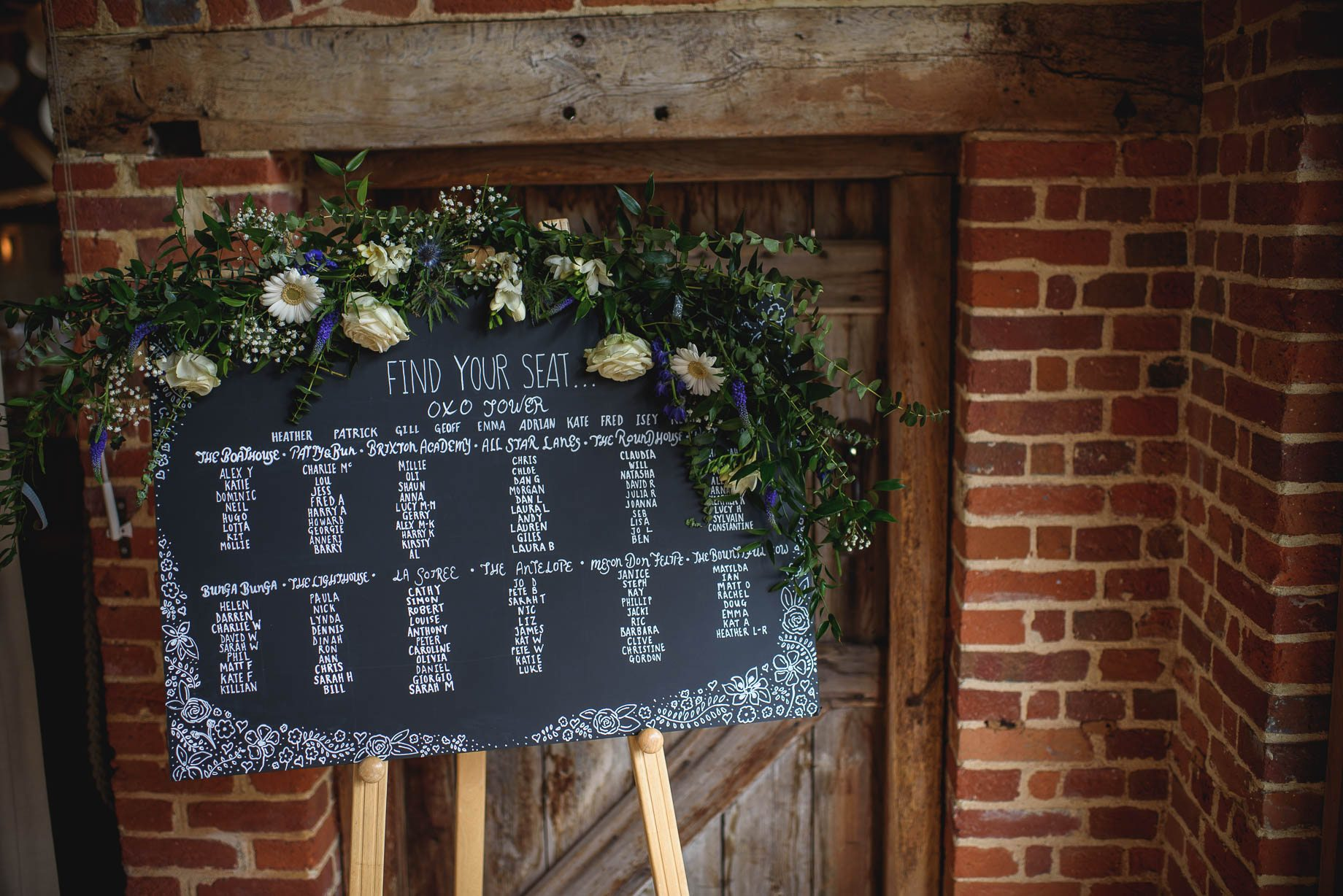 Bury Court Barn wedding photography by Guy Collier - Heather and Pat (77 of 170)
