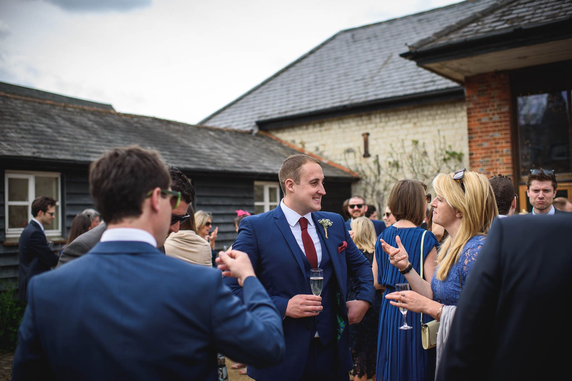 Bury Court Barn wedding photography by Guy Collier - Heather and Pat (81 of 170)