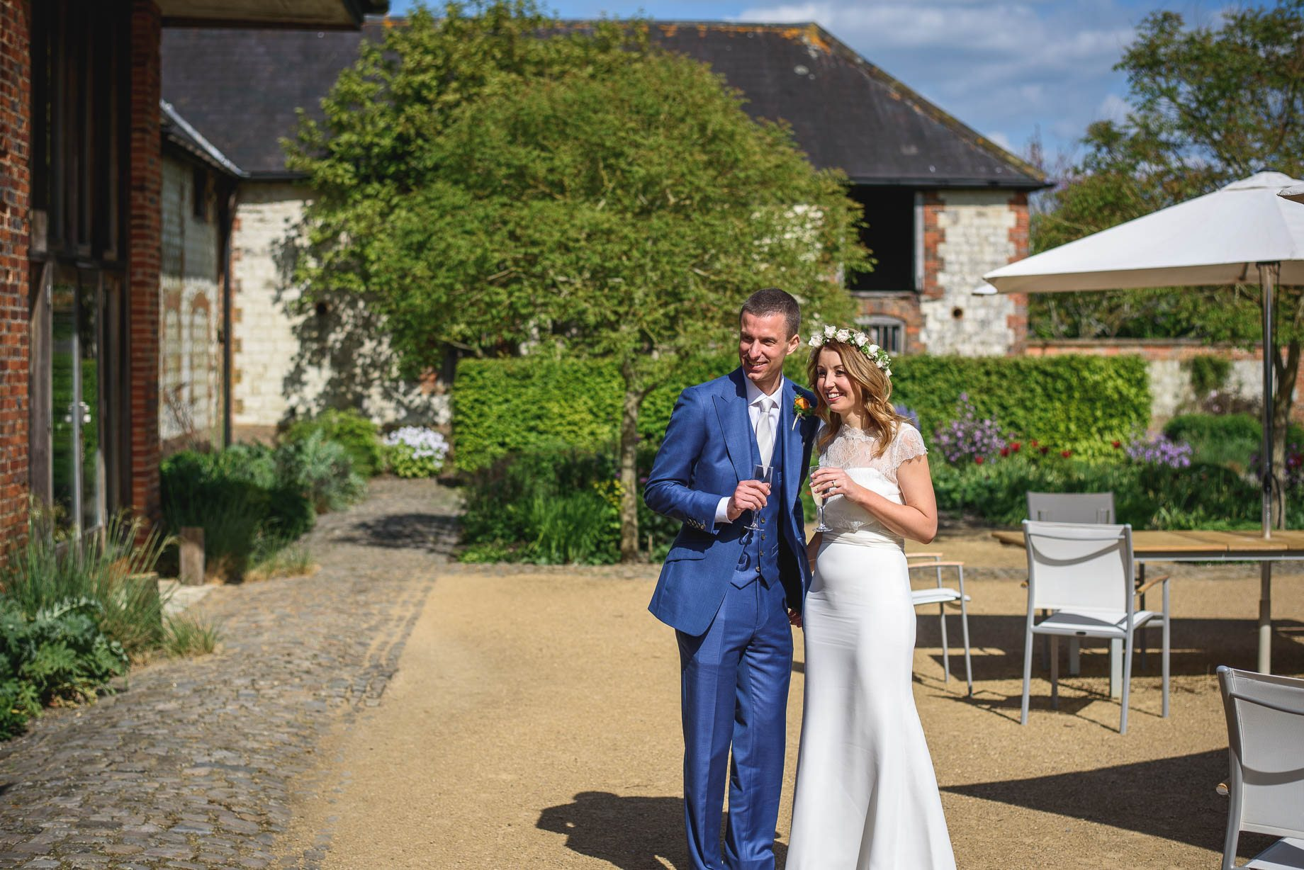 Bury Court Barn wedding photography by Guy Collier - Jo and Jamie (100 of 160)