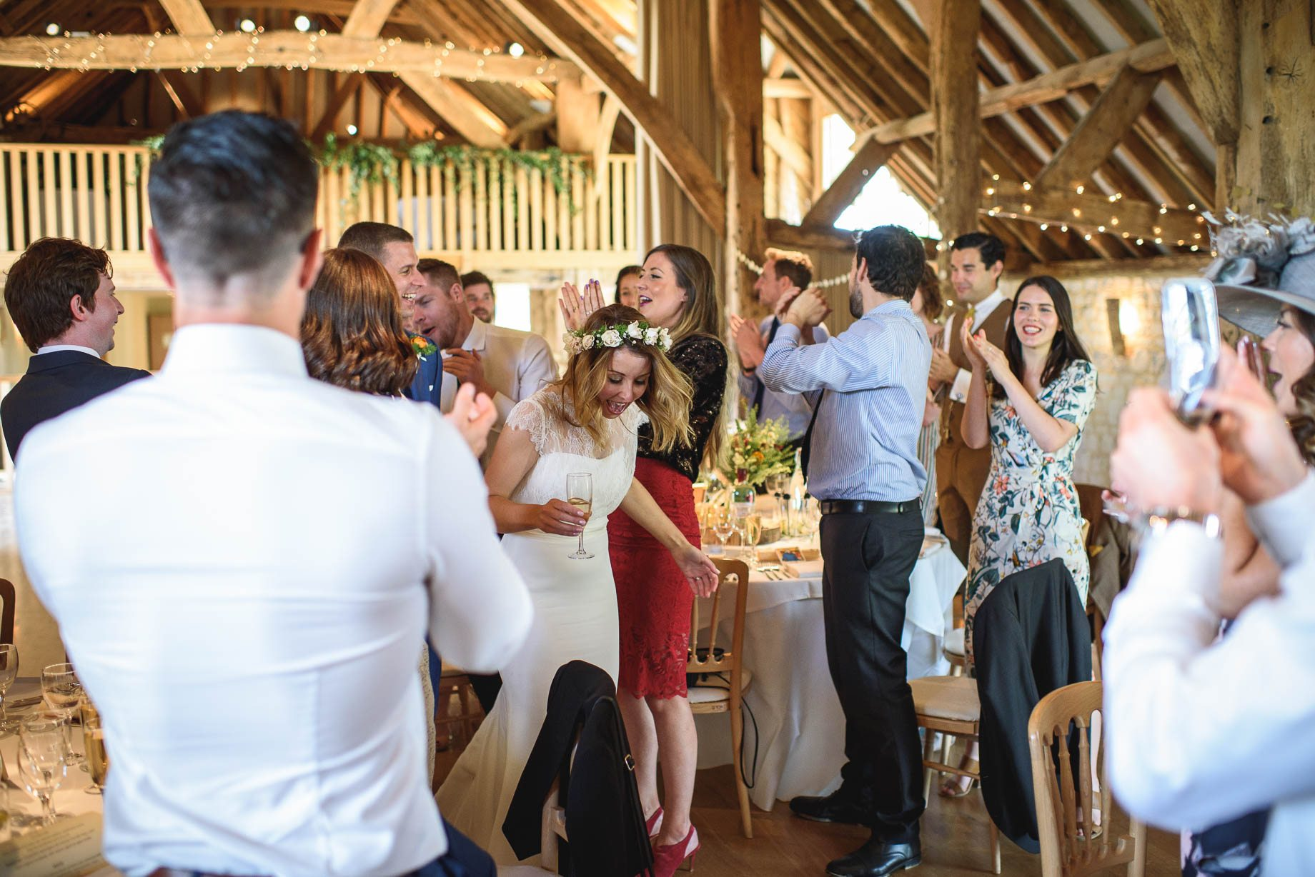 The Barn at Bury Court - Jo + Jamie
