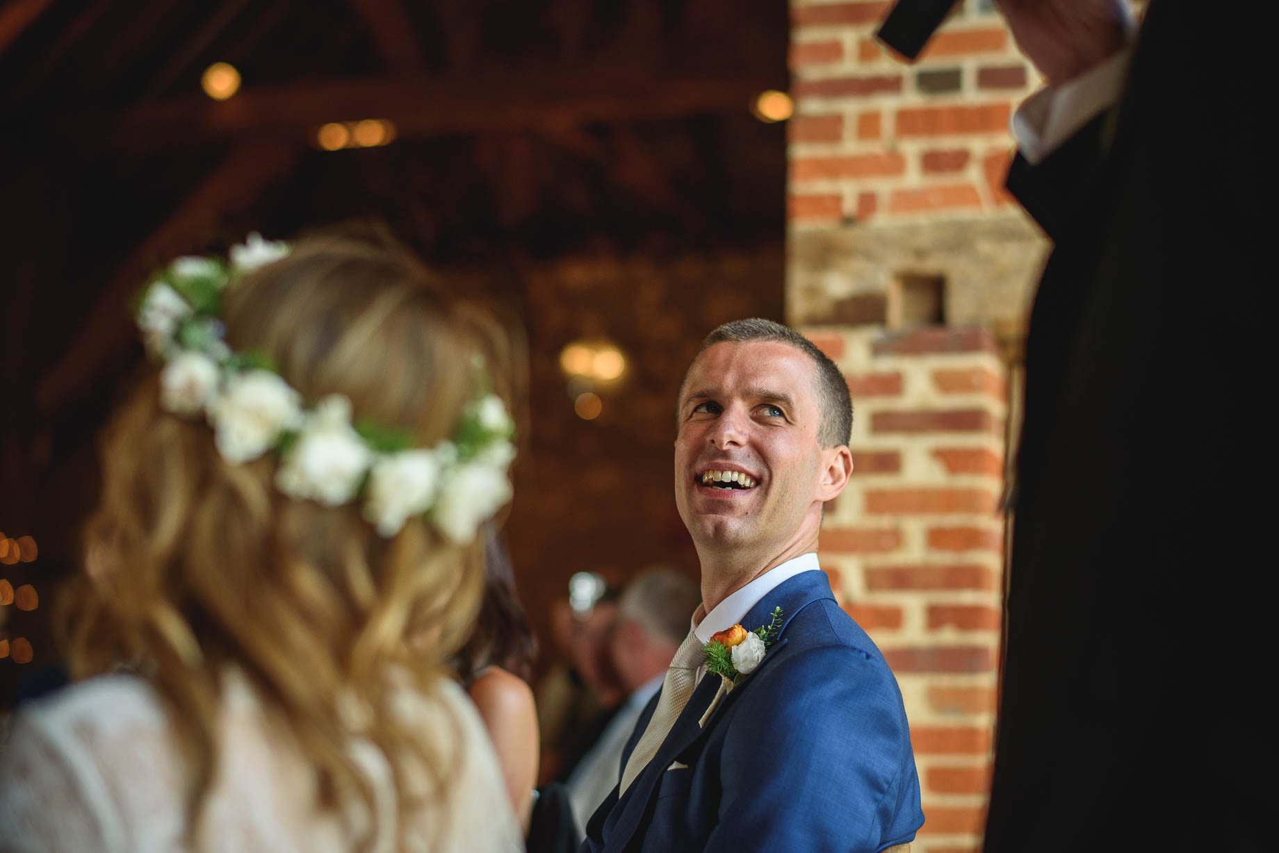 Bury Court Barn wedding photography by Guy Collier - Jo and Jamie (111 of 160)
