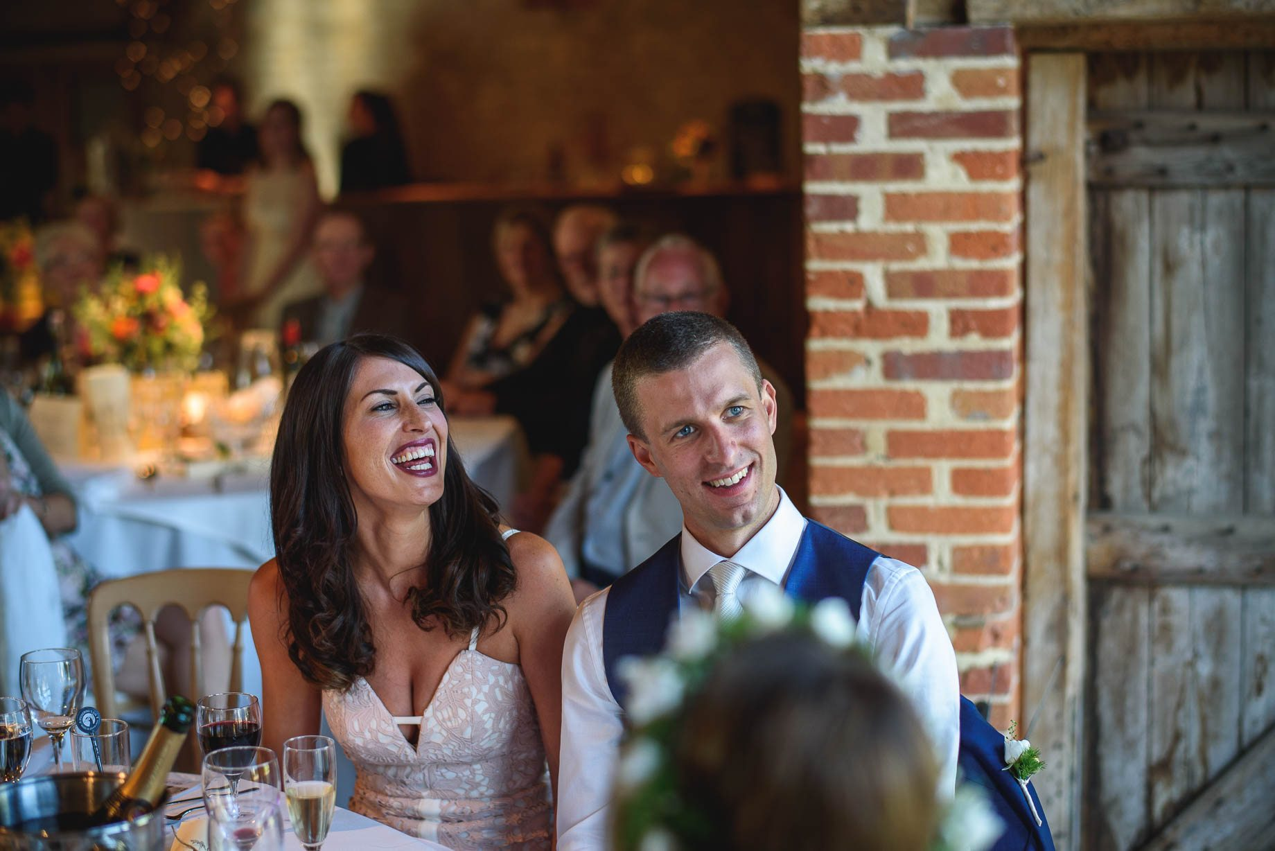 Bury Court Barn wedding photography by Guy Collier - Jo and Jamie (125 of 160)