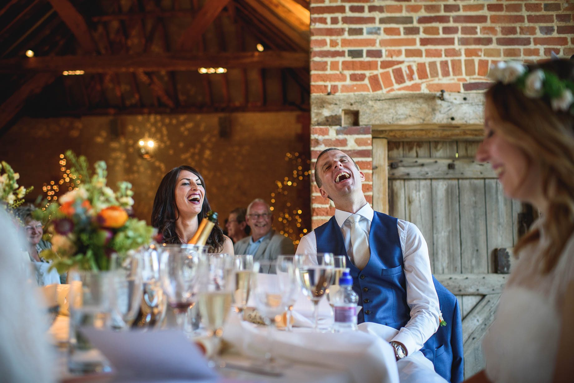Bury Court Barn wedding photography by Guy Collier - Jo and Jamie (128 of 160)