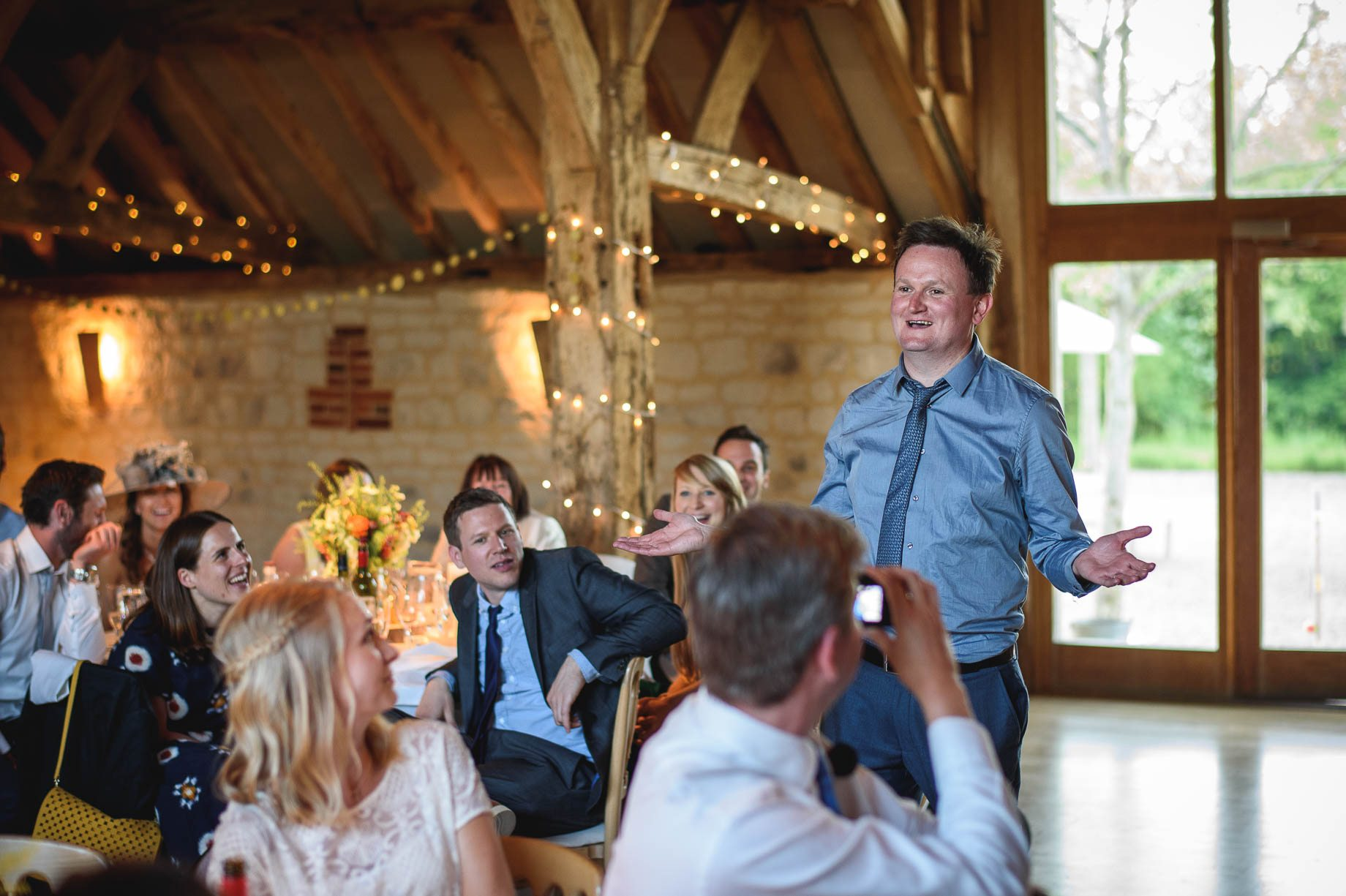 Bury Court Barn wedding photography by Guy Collier - Jo and Jamie (133 of 160)