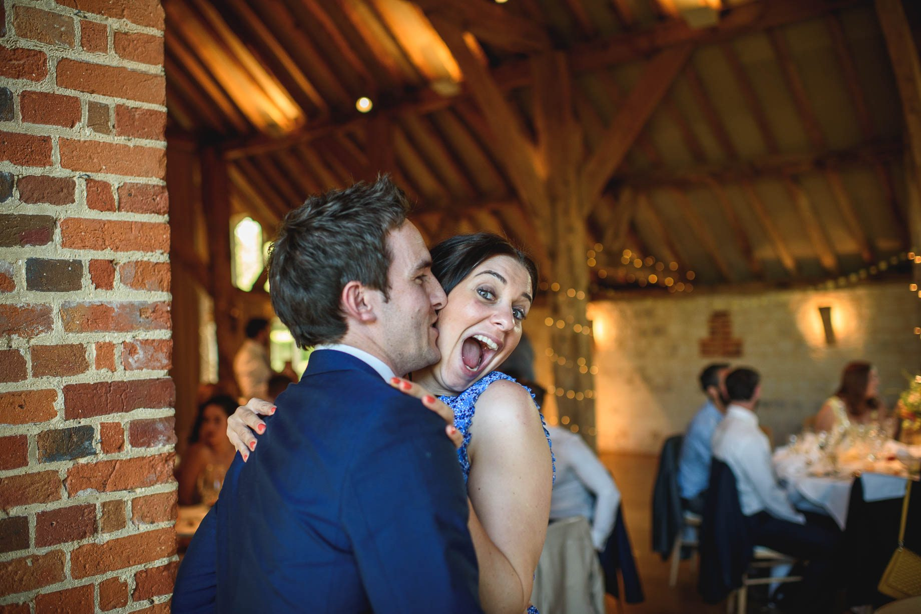 Bury Court Barn wedding photography by Guy Collier - Jo and Jamie (135 of 160)