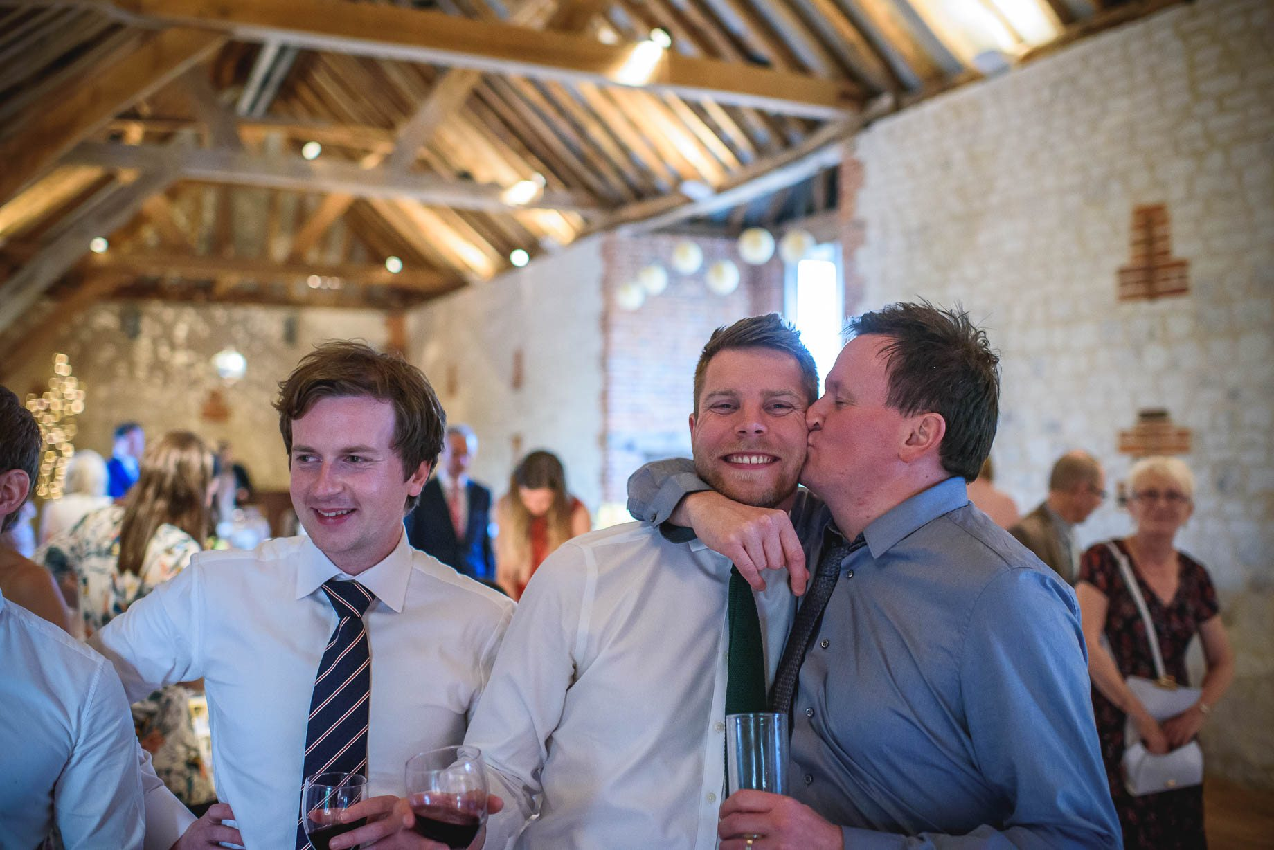 Bury Court Barn wedding photography by Guy Collier - Jo and Jamie (150 of 160)