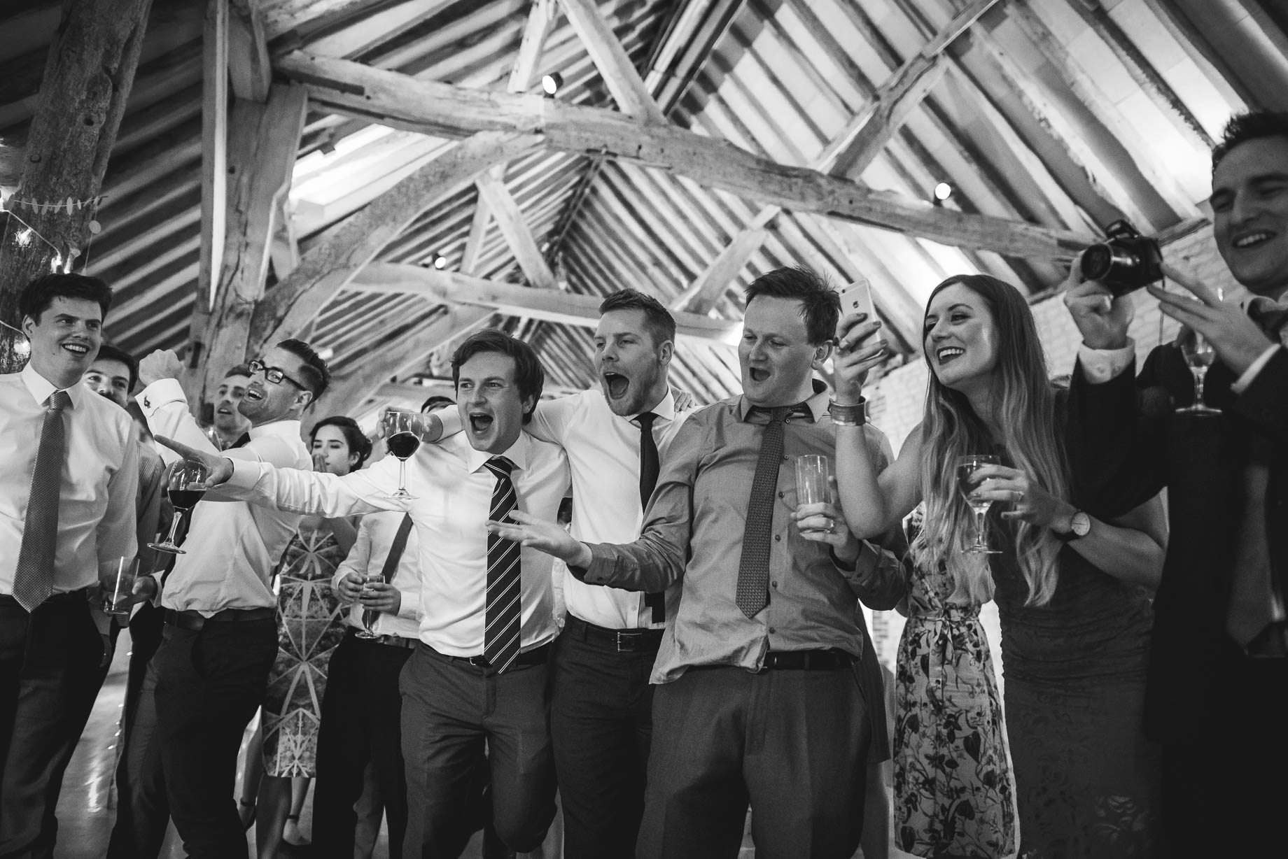 Bury Court Barn wedding photography by Guy Collier - Jo and Jamie (152 of 160)