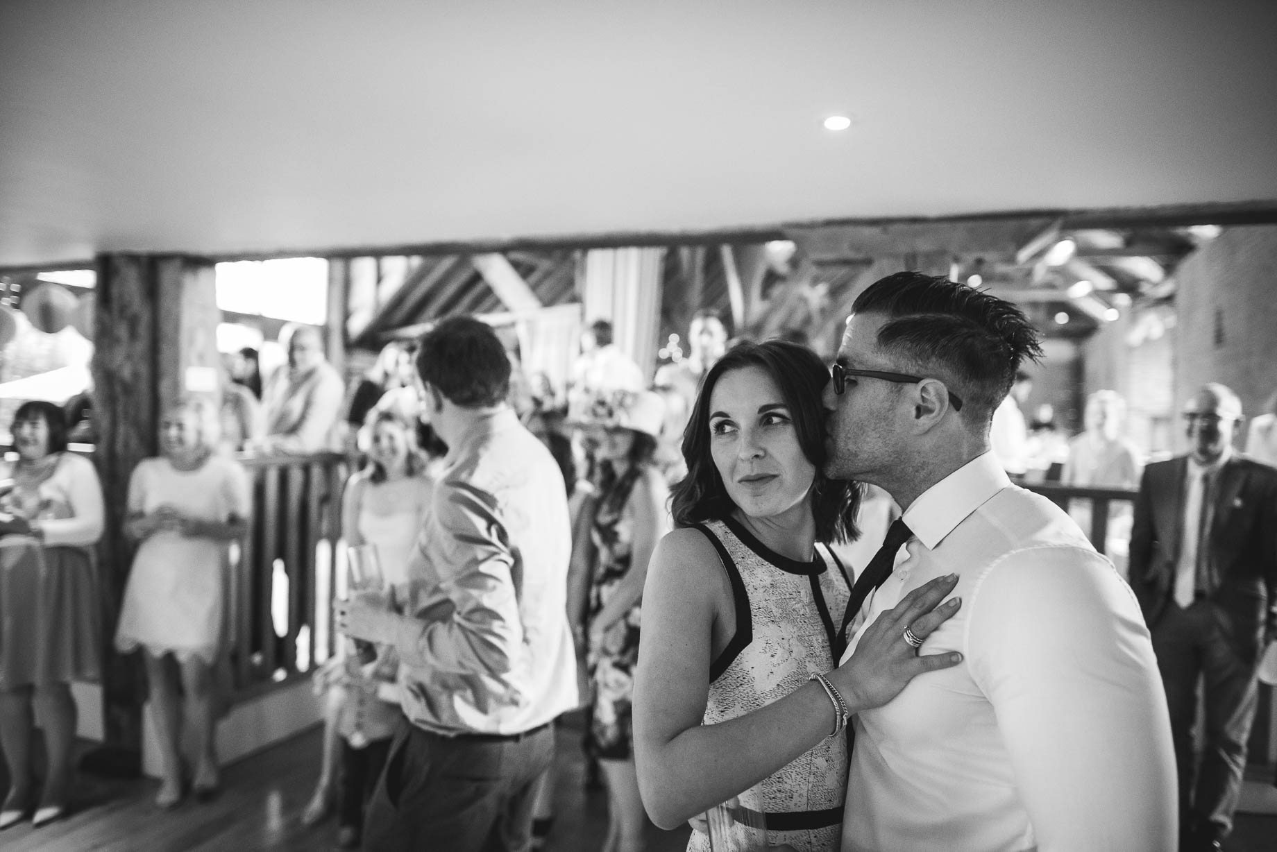 Bury Court Barn wedding photography by Guy Collier - Jo and Jamie (154 of 160)