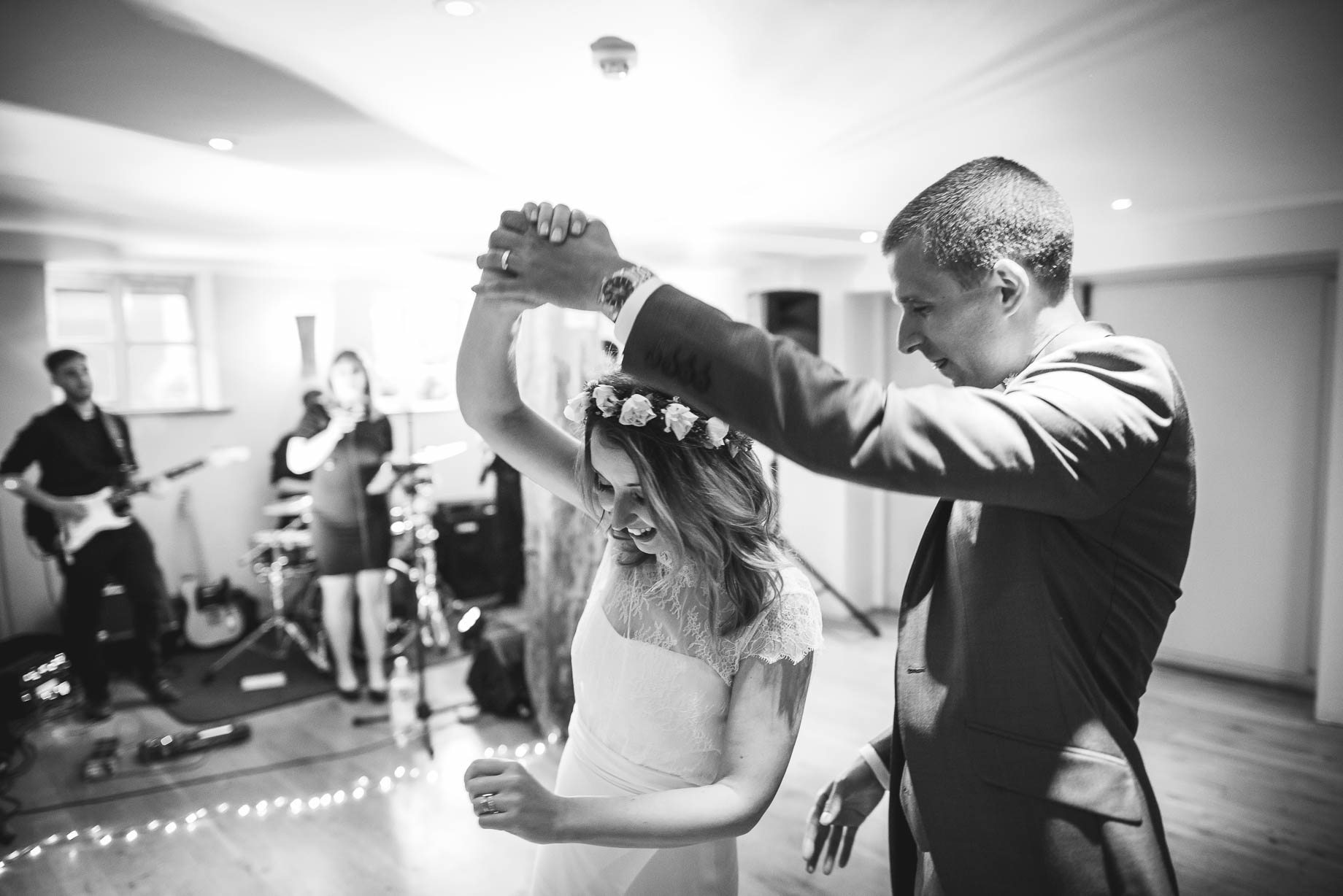 Bury Court Barn wedding photography by Guy Collier - Jo and Jamie (155 of 160)