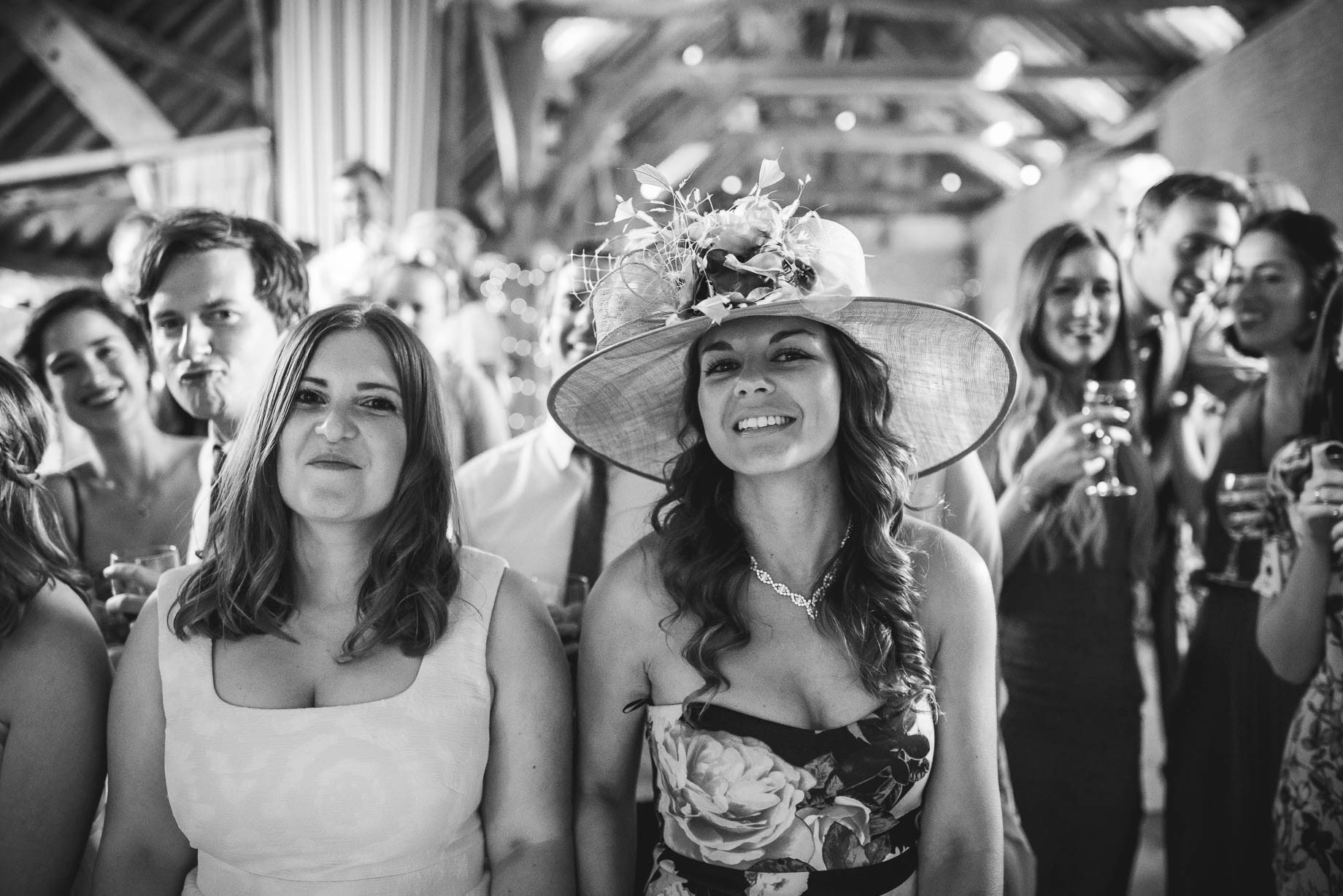 Bury Court Barn wedding photography by Guy Collier - Jo and Jamie (156 of 160)