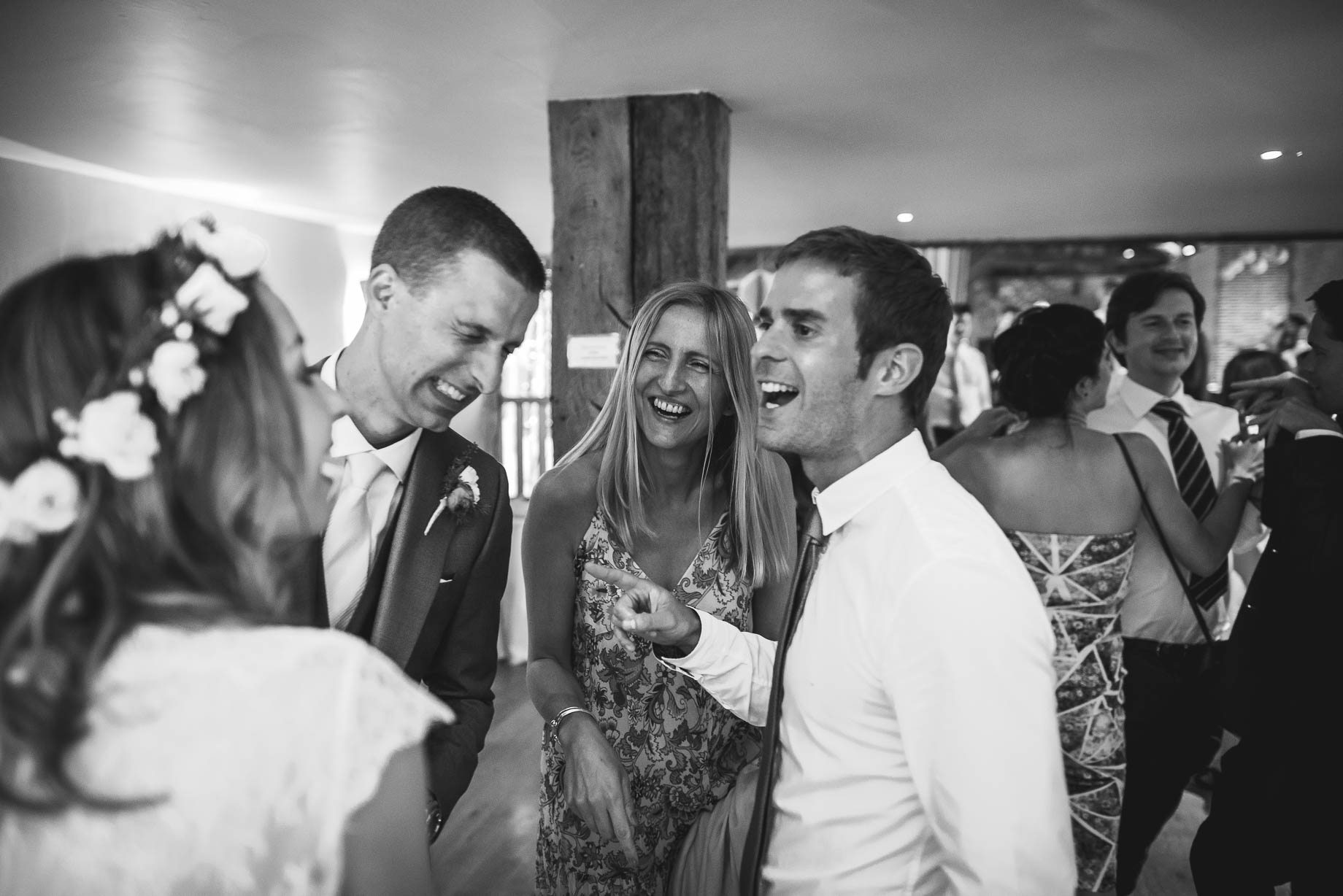 Bury Court Barn wedding photography by Guy Collier - Jo and Jamie (159 of 160)
