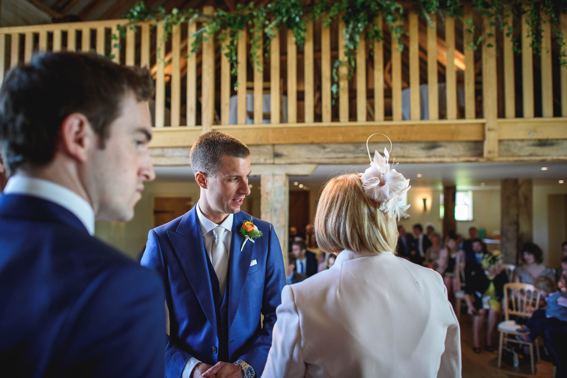 Bury Court Barn wedding photography by Guy Collier - Jo and Jamie (55 of 160)