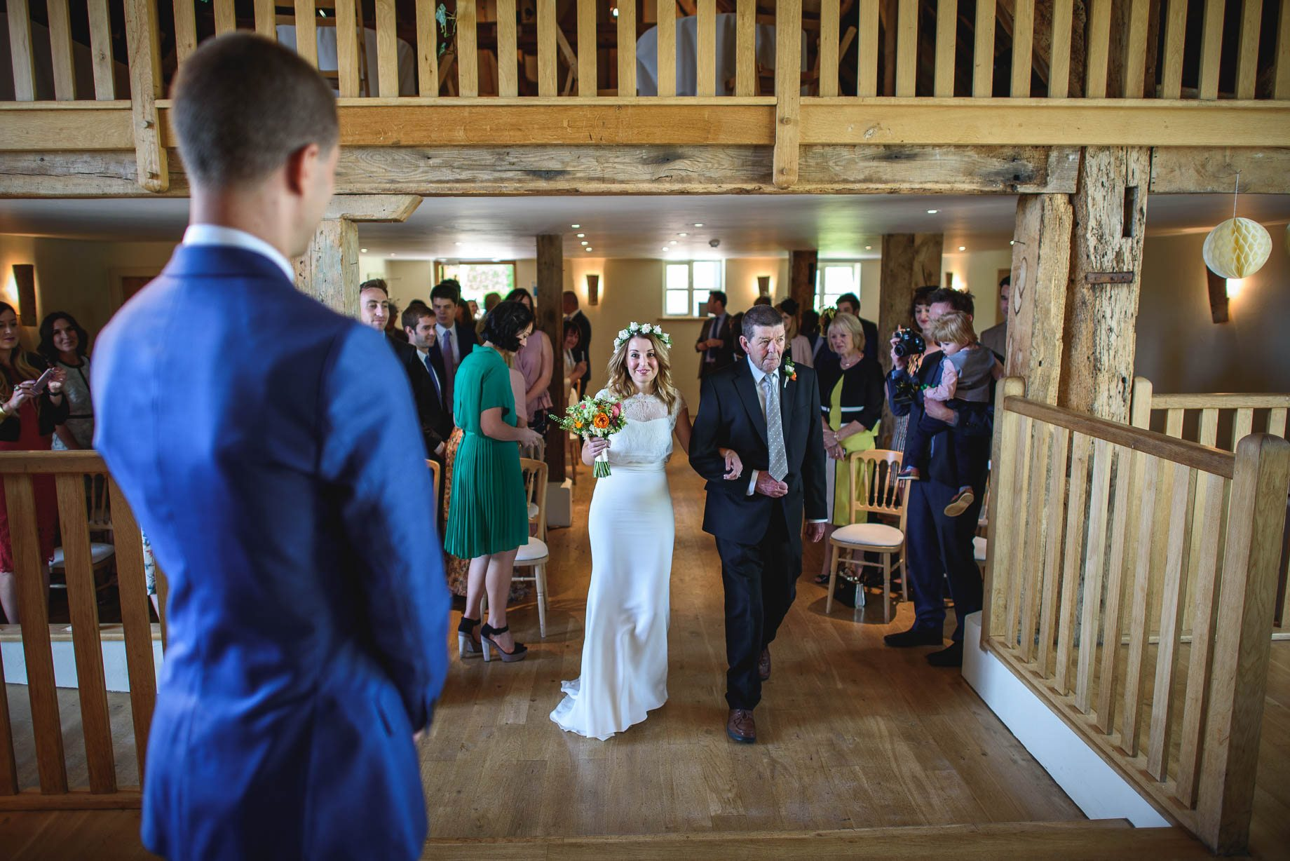Bury Court Barn wedding photography by Guy Collier - Jo and Jamie (57 of 160)