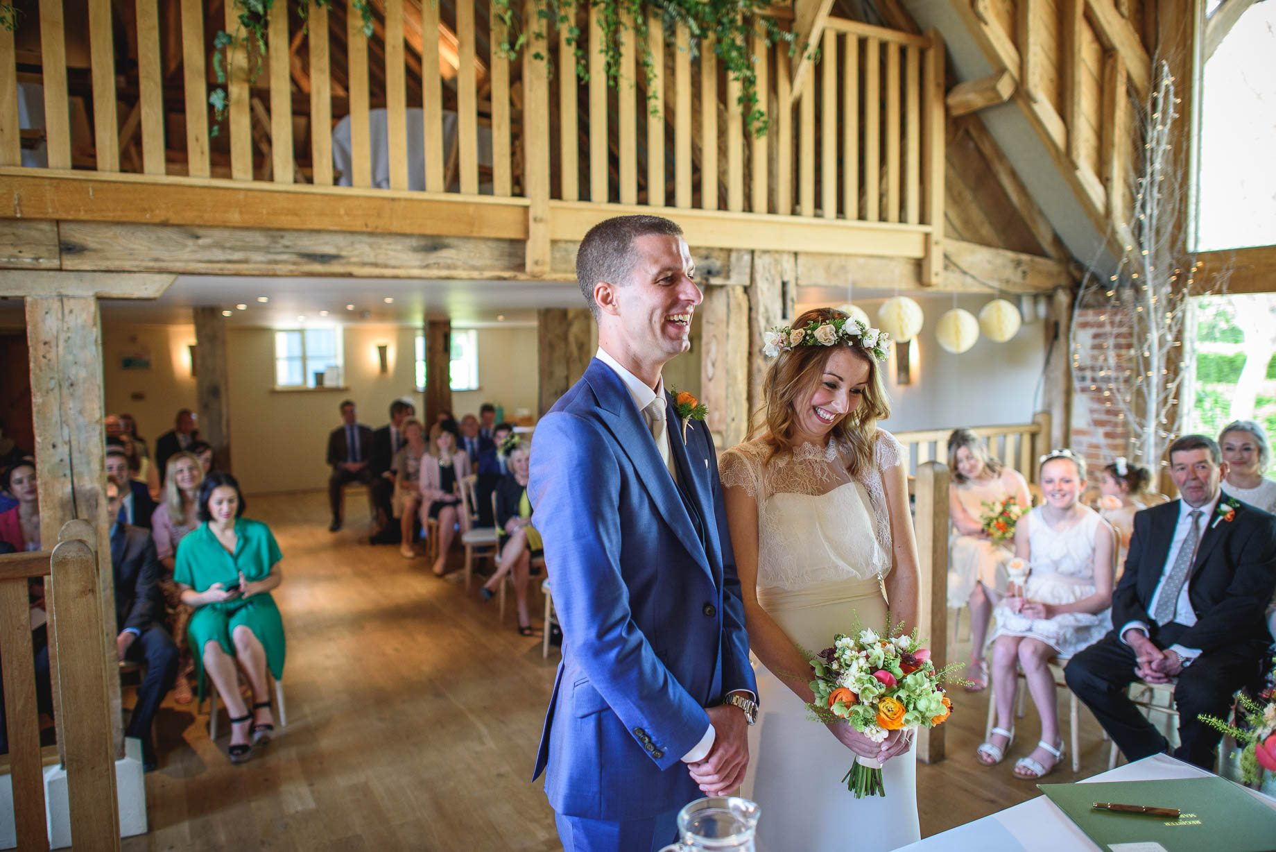 Bury Court Barn wedding photography by Guy Collier - Jo and Jamie (58 of 160)