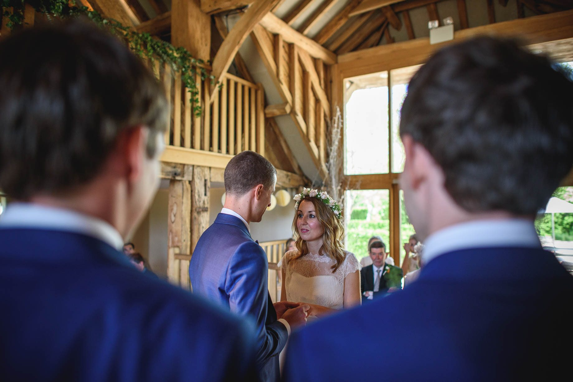 Bury Court Barn wedding photography by Guy Collier - Jo and Jamie (60 of 160)