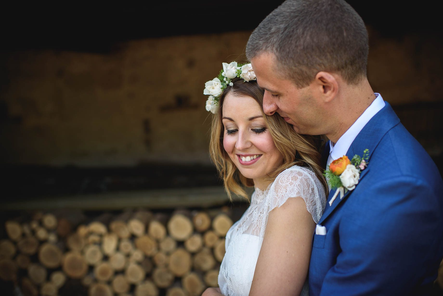 Bury Court Barn wedding photography by Guy Collier - Jo and Jamie (71 of 160)