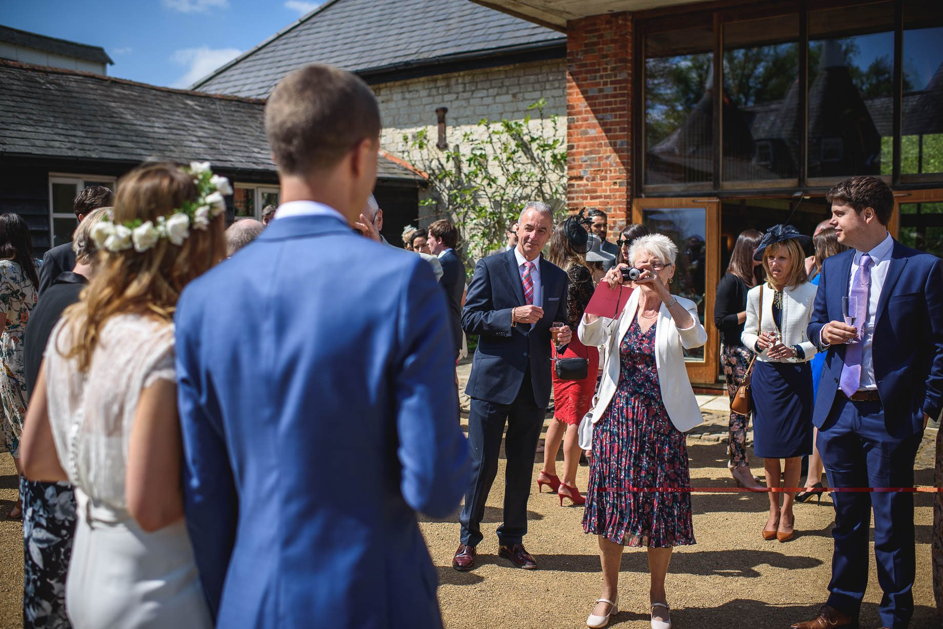 Bury Court Barn wedding photography by Guy Collier - Jo and Jamie (76 of 160)