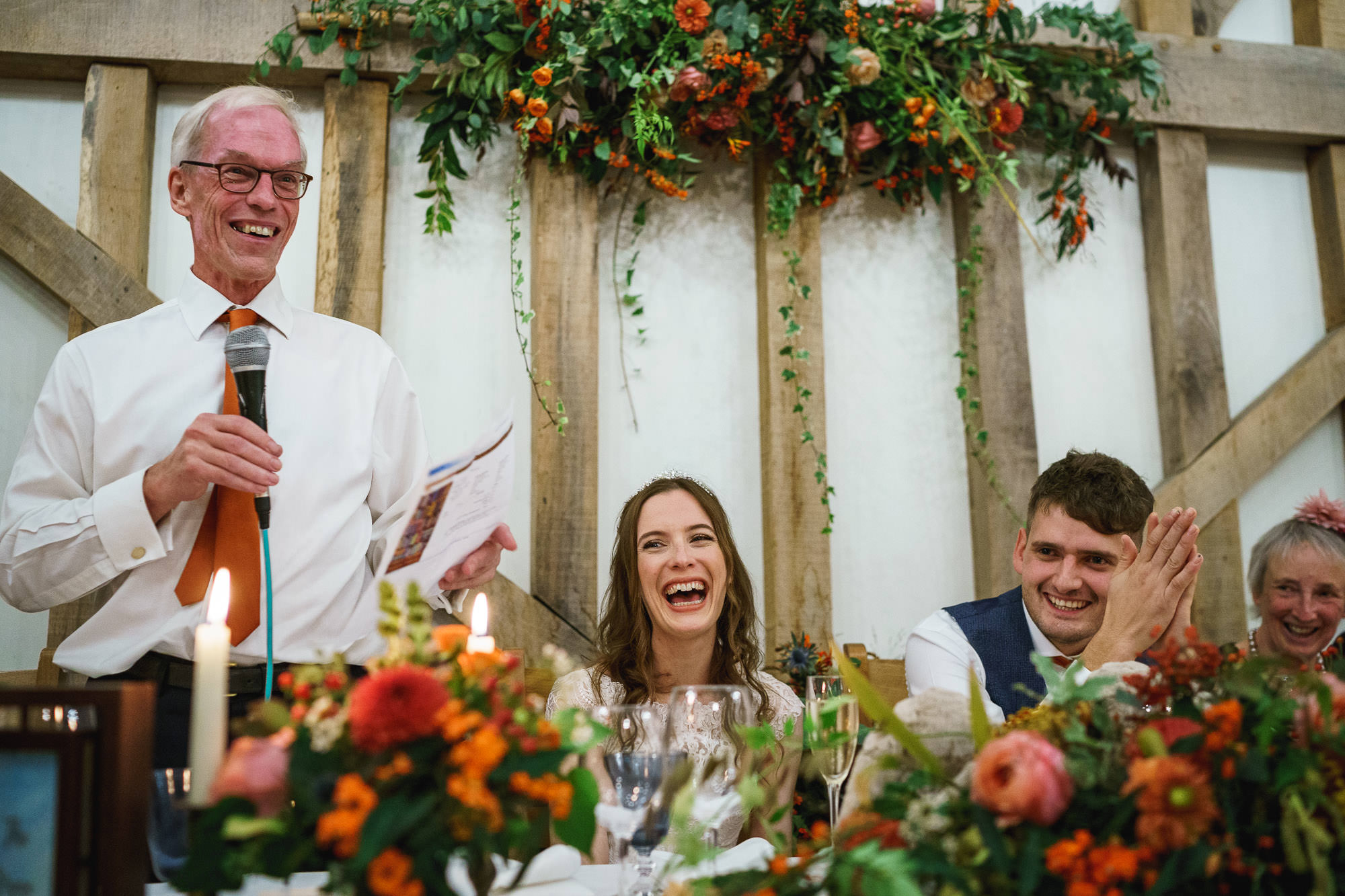 Gate Street Barn wedding photographer - Caroline + Rob