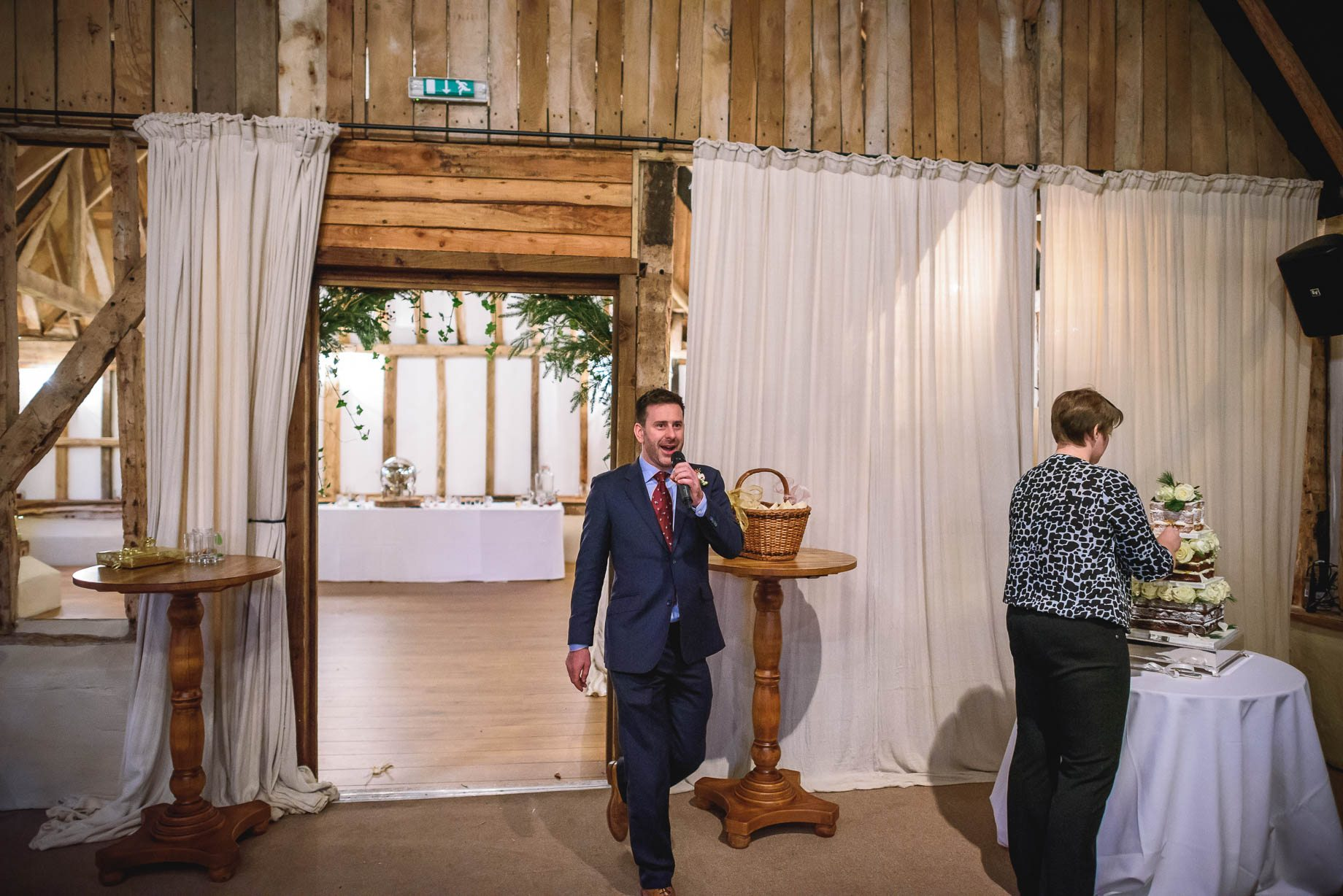 Clock Barn Wedding Photography - Eva and Ollie (125 of 170)