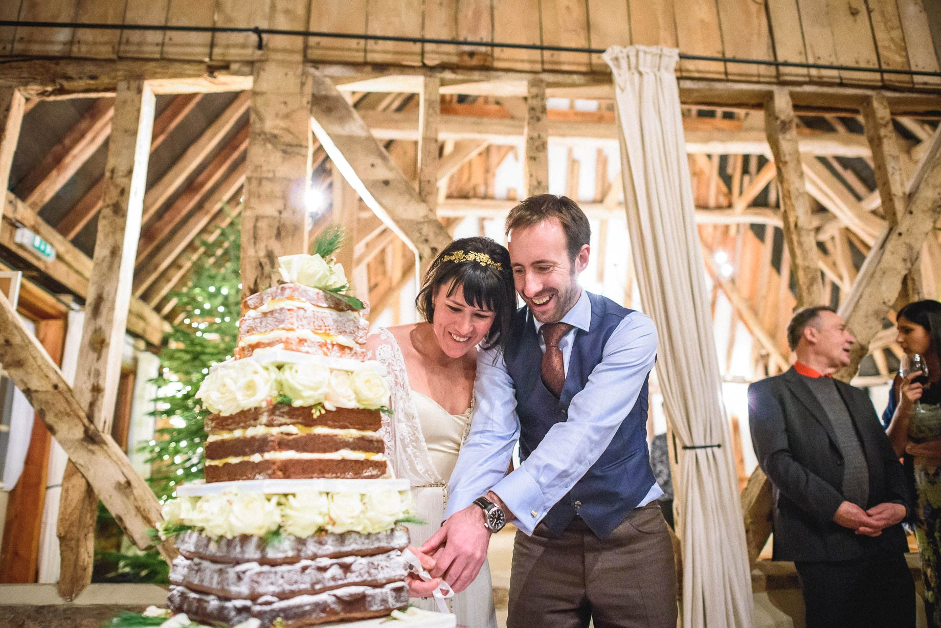 Clock Barn Wedding Photography - Eva and Ollie (161 of 170)