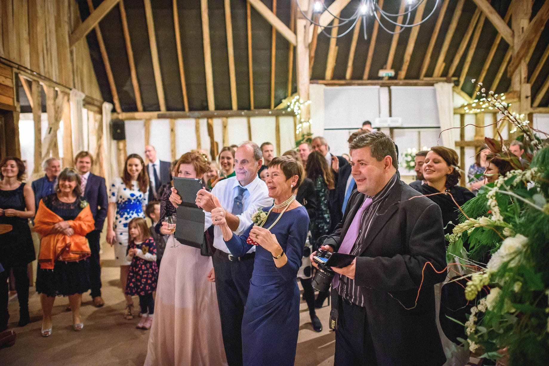 Clock Barn Wedding Photography - Eva and Ollie (162 of 170)