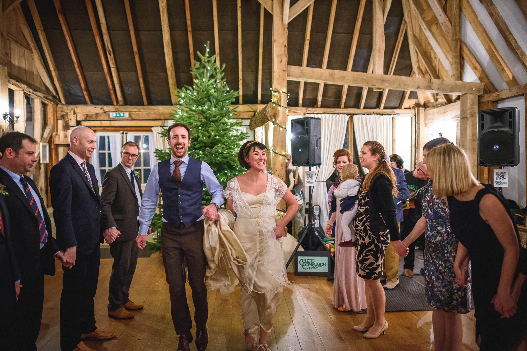 Clock Barn Wedding Photography - Eva and Ollie (164 of 170)