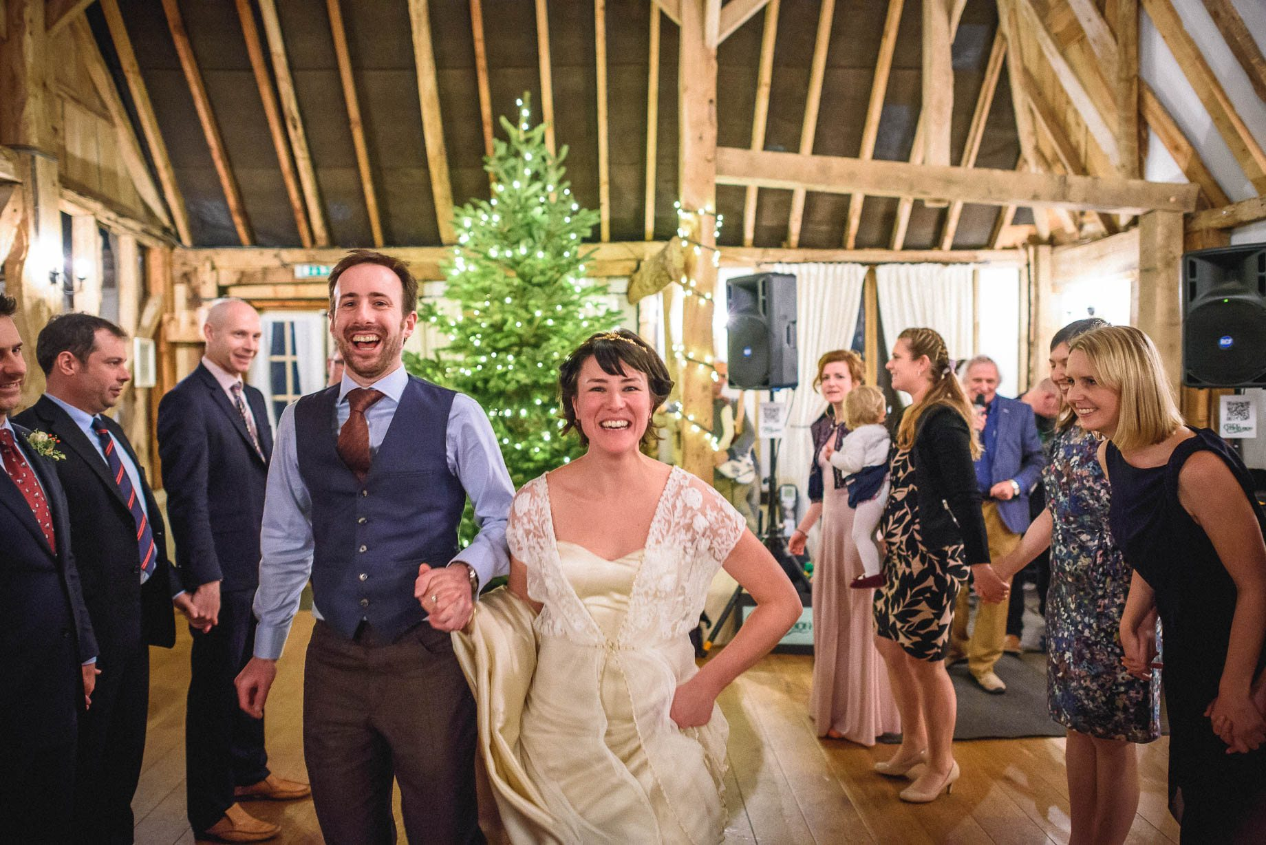 Clock Barn Wedding Photography - Eva and Ollie (165 of 170)