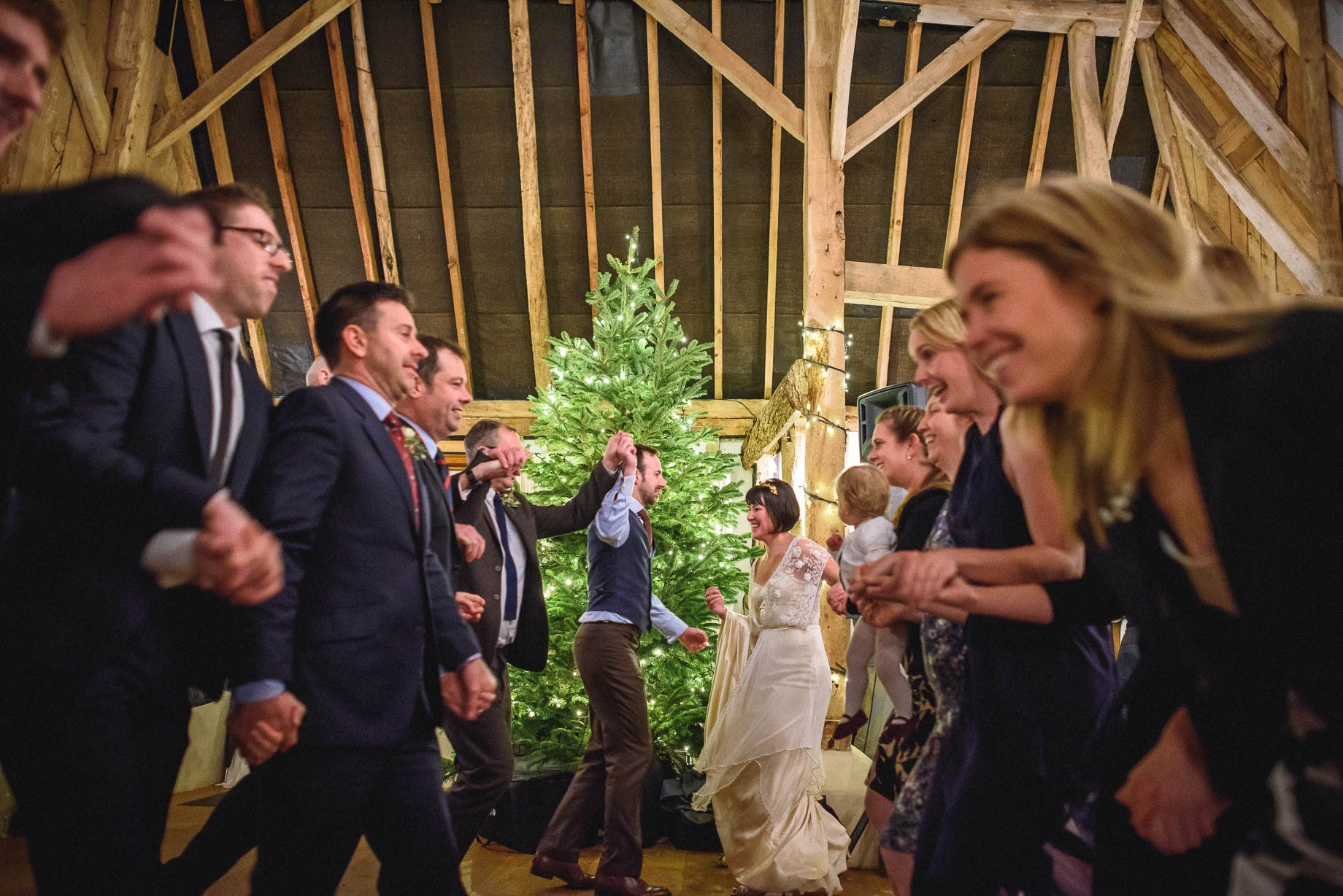 Clock Barn Wedding Photography - Eva and Ollie (168 of 170)