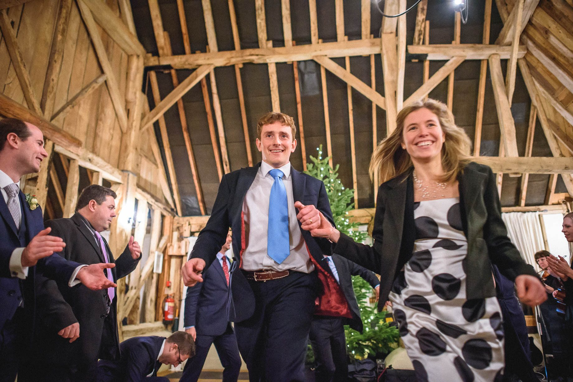 Clock Barn Wedding Photography - Eva and Ollie (170 of 170)