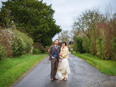 The Clock Barn wedding photography - Eva + Ollie