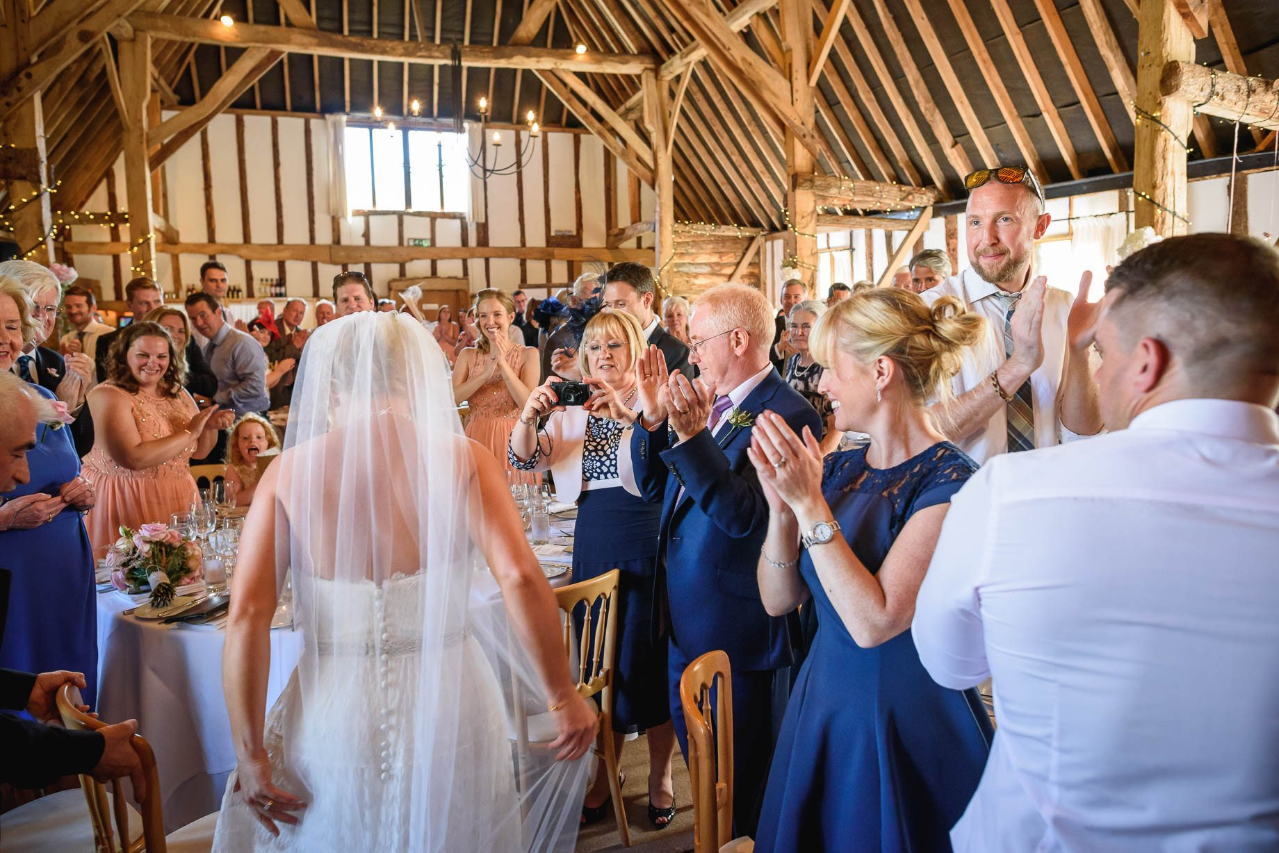 Clock Barn wedding photography by Guy Collier Photography- Rebecca and Dom (119 of 198)