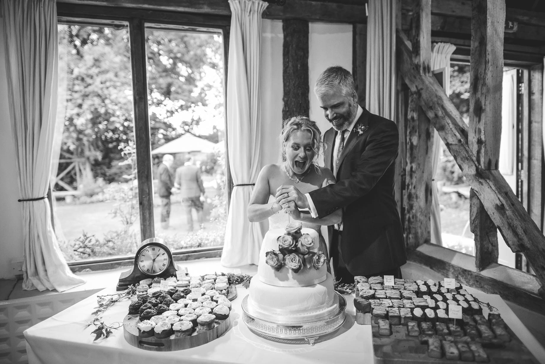 Clock Barn wedding photography by Guy Collier Photography- Rebecca and Dom (184 of 198)