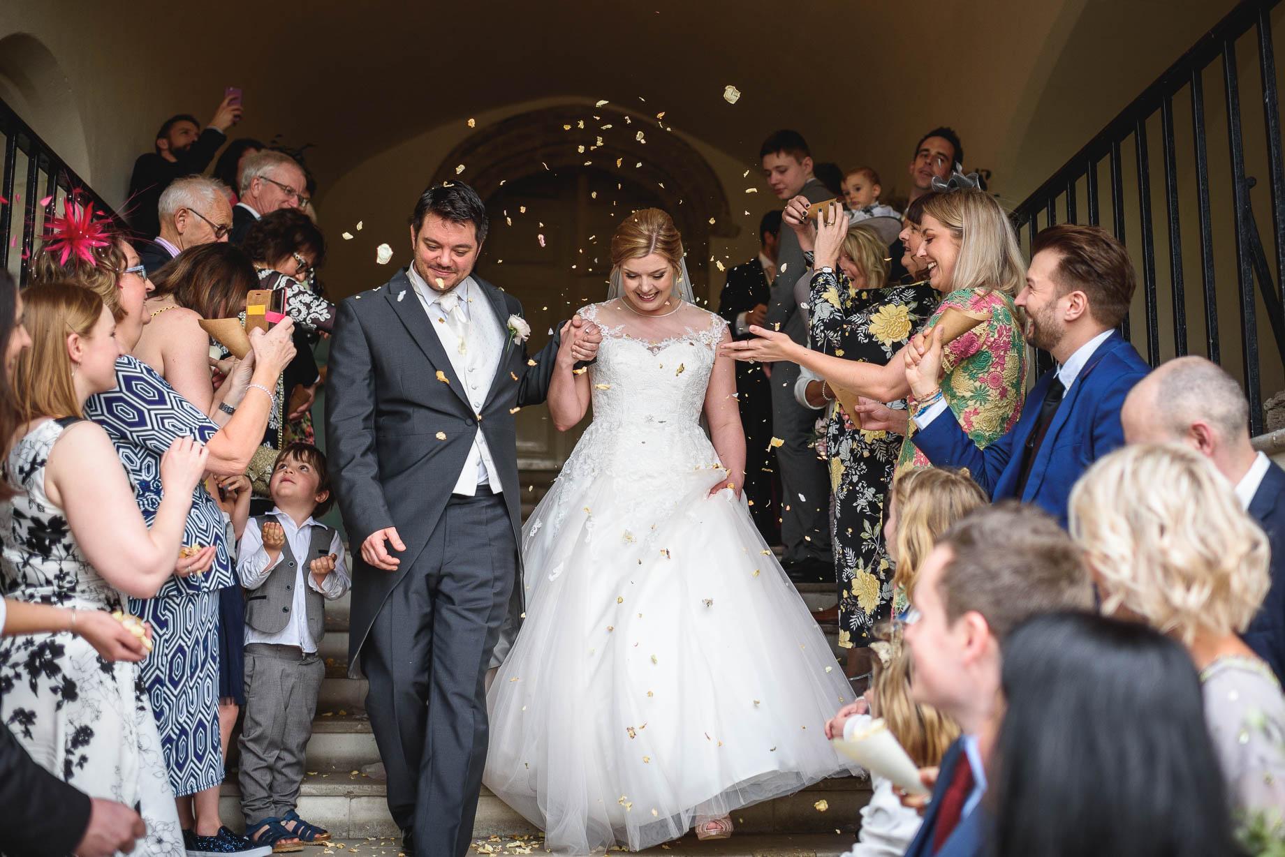 Farnham Castle wedding photography - Becky + Ollie