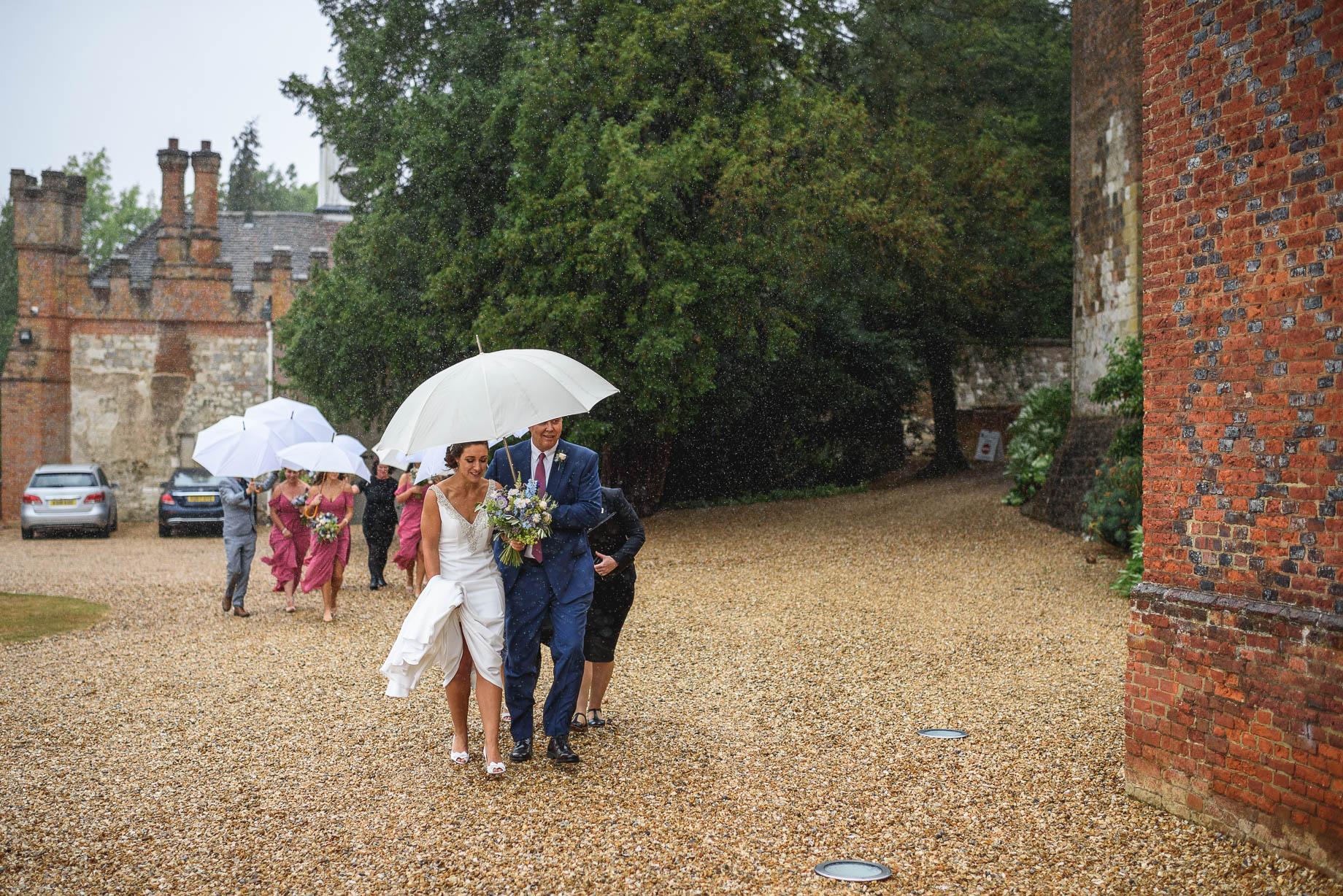 Farnham Castle wedding photography - Paulette + Laurence