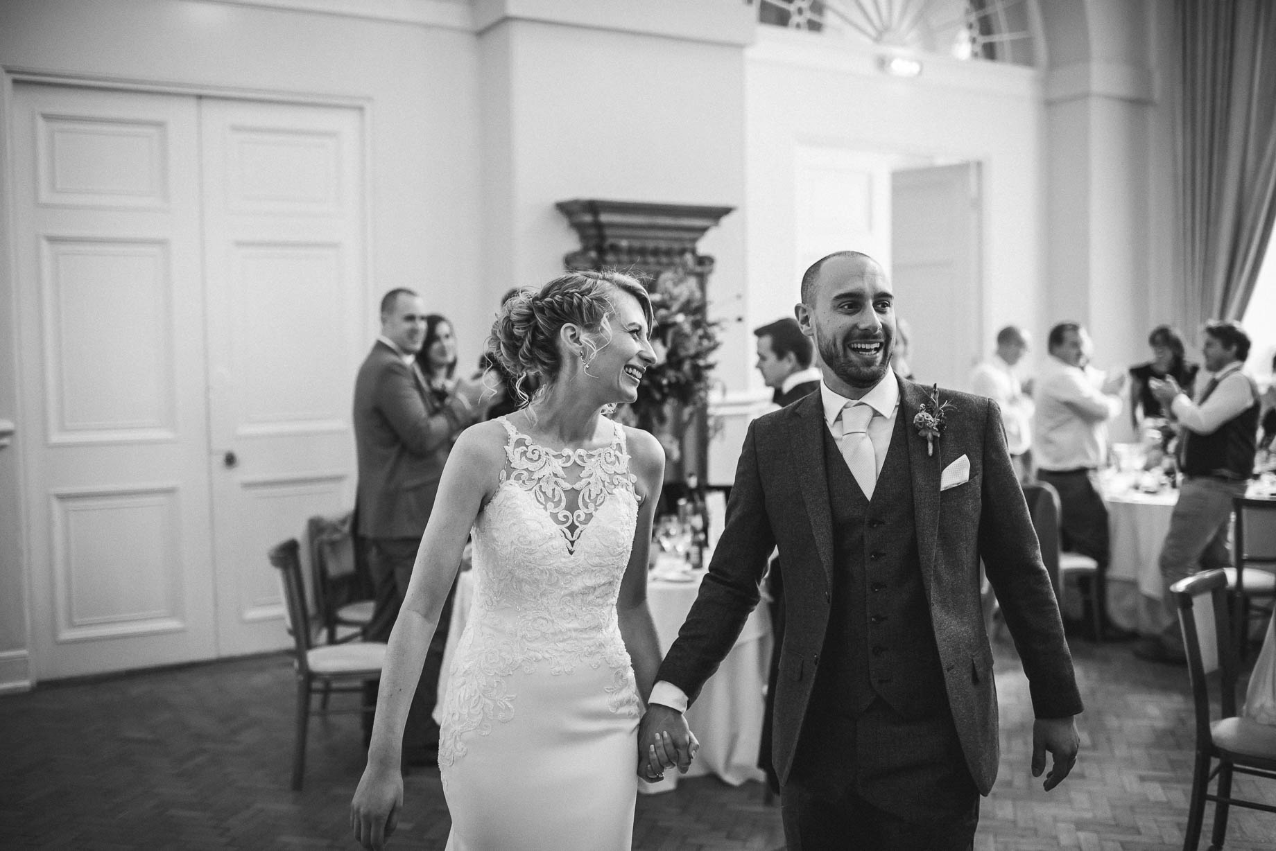 Farnham Castle wedding photography - Victoria + David