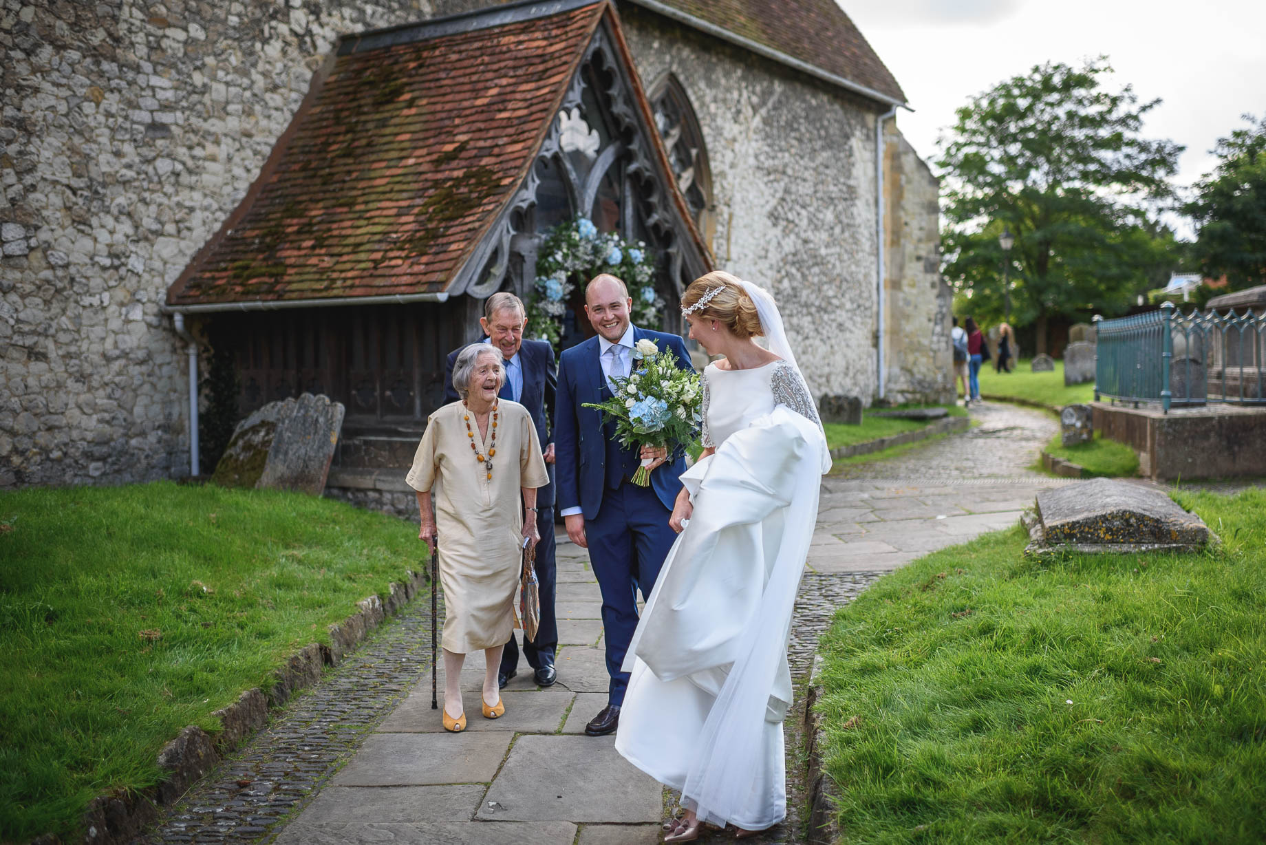 Farnham wedding photography - Alice + Henry