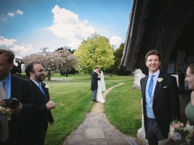 Bury Court Barn - Fran + Duncan