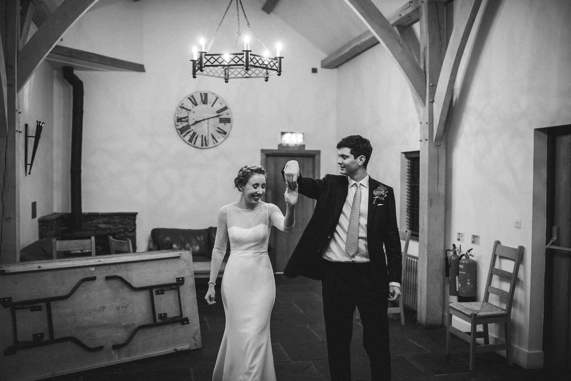 Gate Street Barn wedding photography - Charlotte + Nicolas