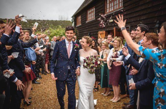 Gate Street Barn wedding photography - Charlotte + Nicolas