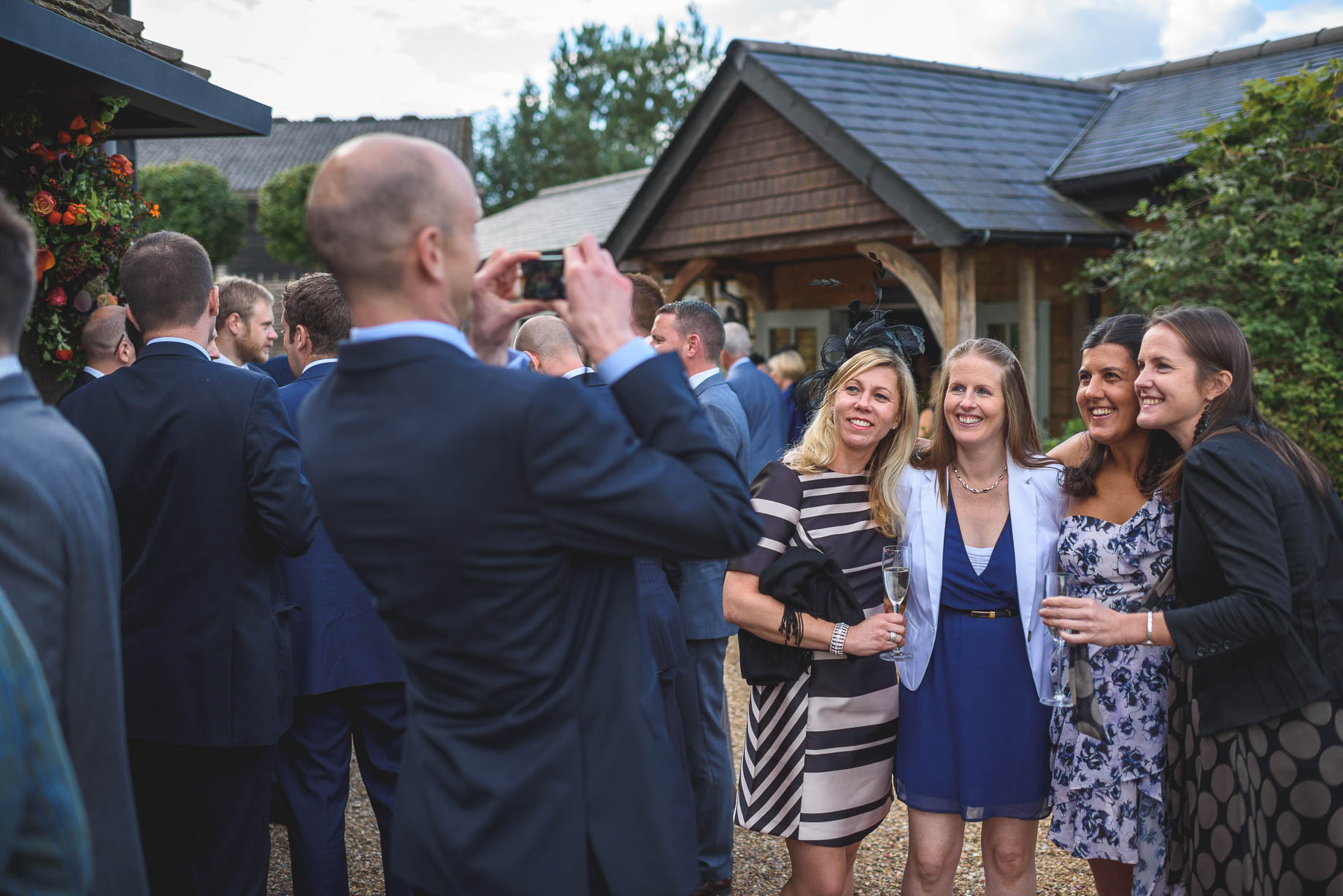 Gate Street Barn wedding photography - Guy Collier - Claire and Andy (119 of 192)