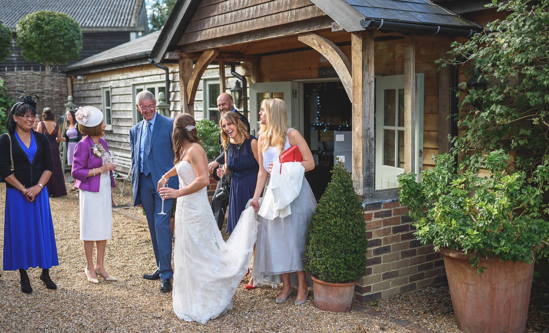 Gate Street Barn wedding photography - Guy Collier - Claire and Andy (121 of 192)