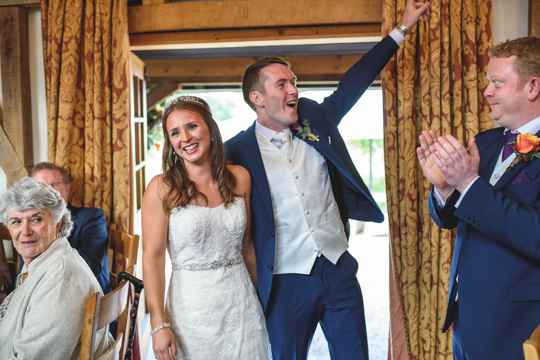 Gate Street Barn wedding photography - Guy Collier - Claire and Andy (126 of 192)