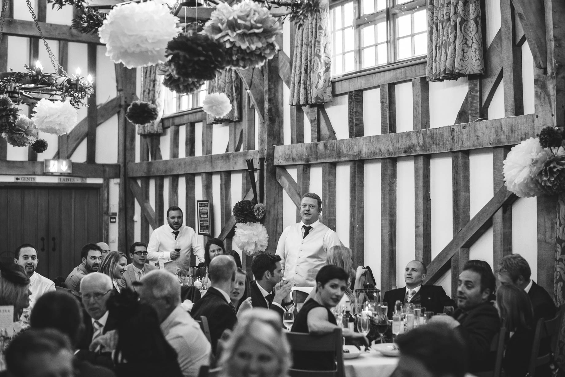 Gate Street Barn wedding photography - Guy Collier - Claire and Andy (128 of 192)