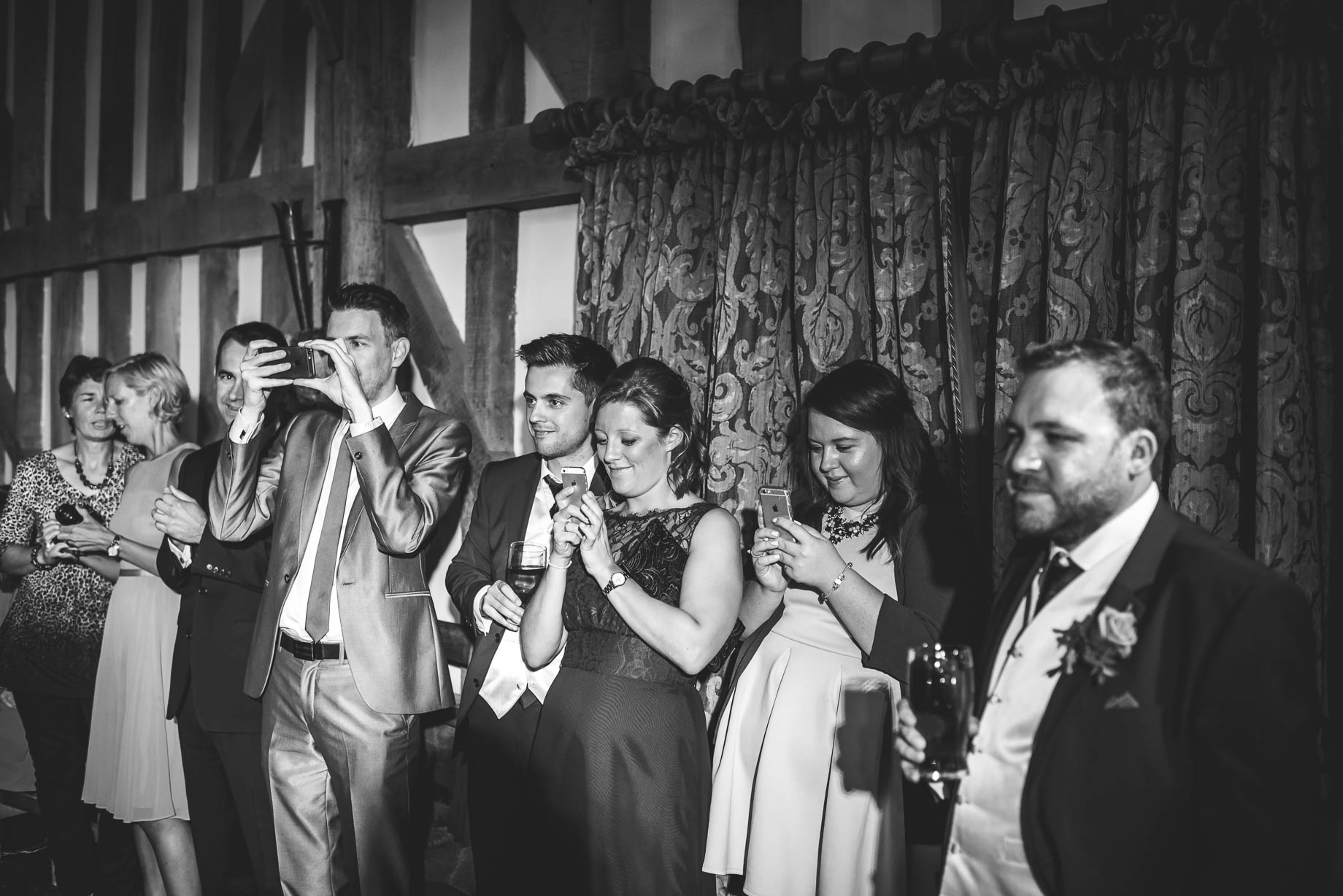 Gate Street Barn wedding photography - Guy Collier - Claire and Andy (189 of 192)