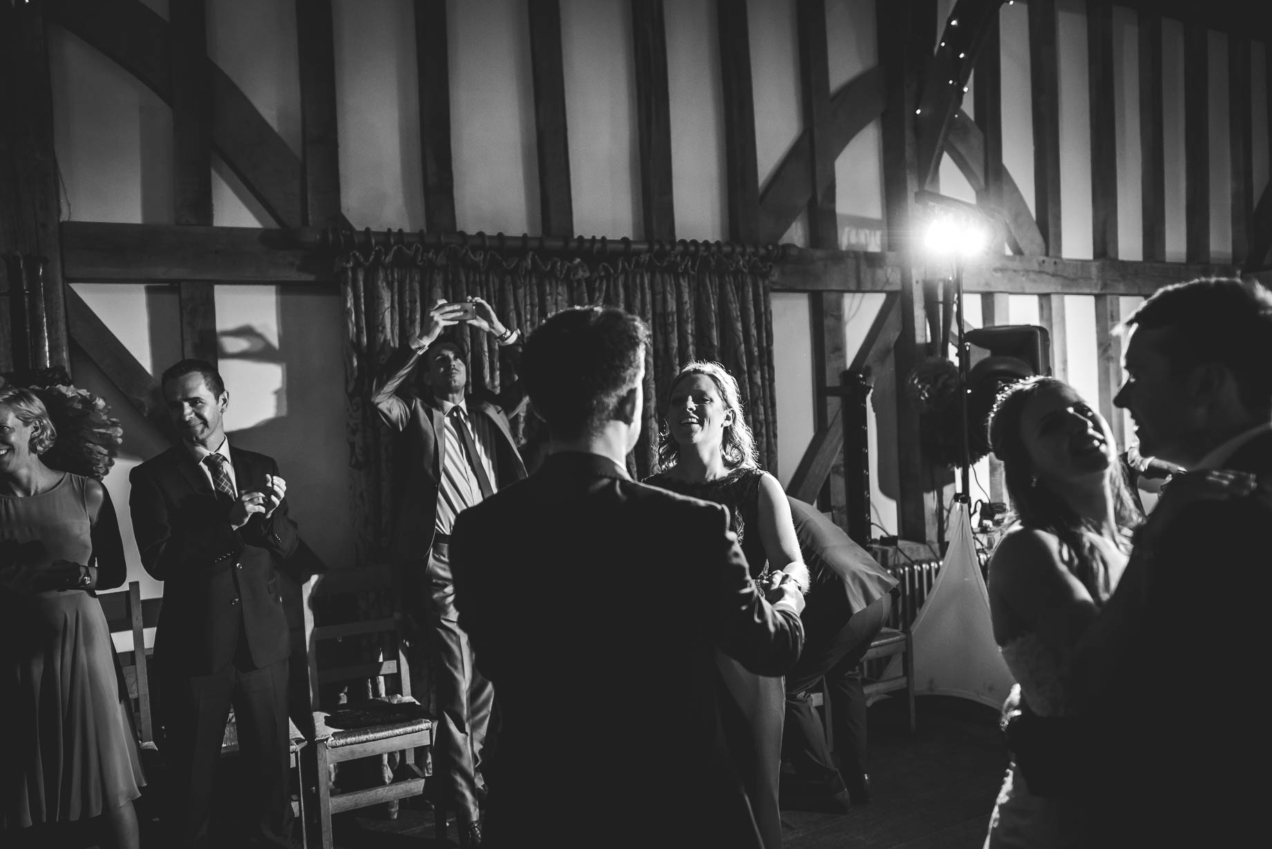 Gate Street Barn wedding photography - Guy Collier - Claire and Andy (191 of 192)